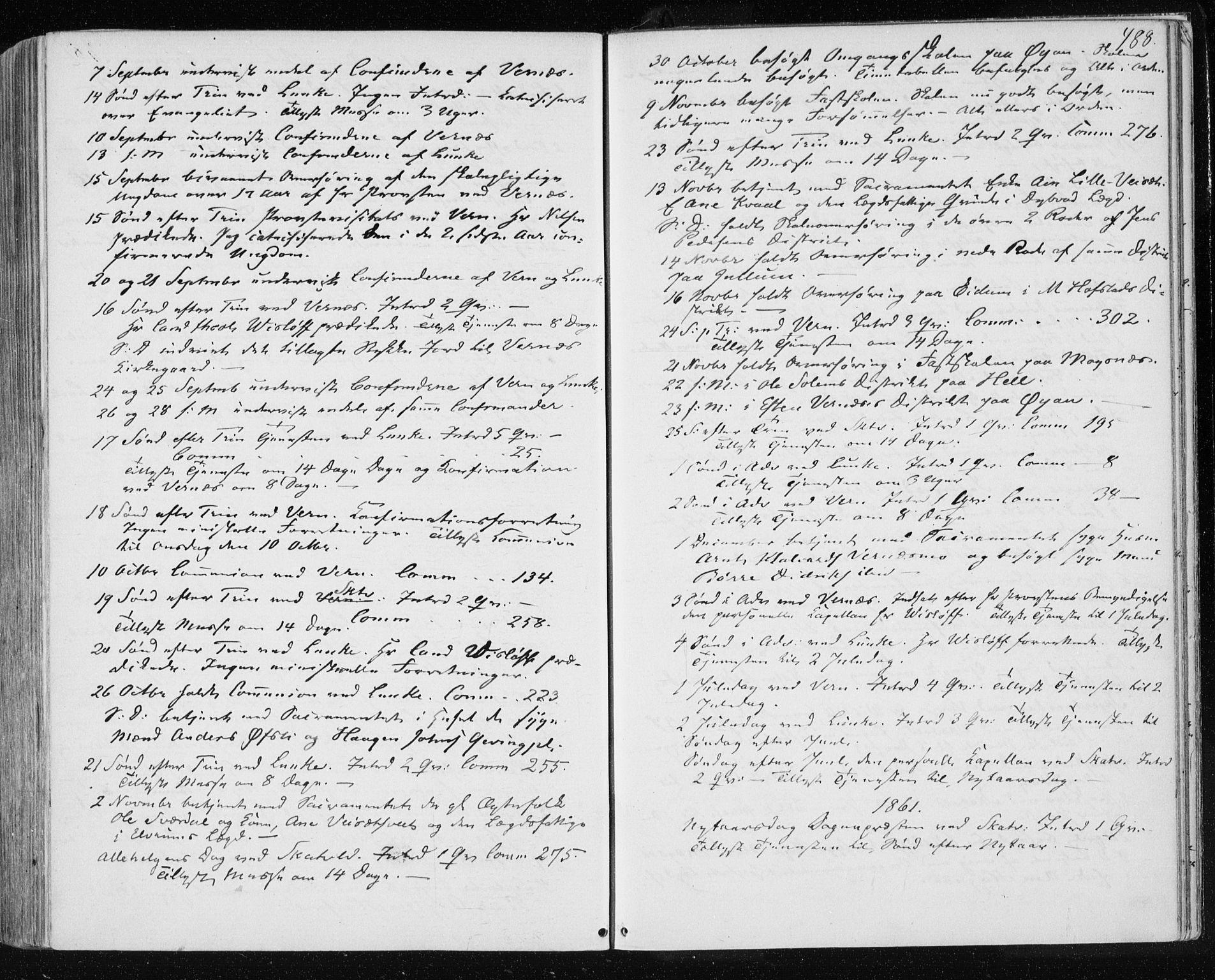 SAT, Ministerialprotokoller, klokkerbøker og fødselsregistre - Nord-Trøndelag, 709/L0075: Ministerialbok nr. 709A15, 1859-1870, s. 488