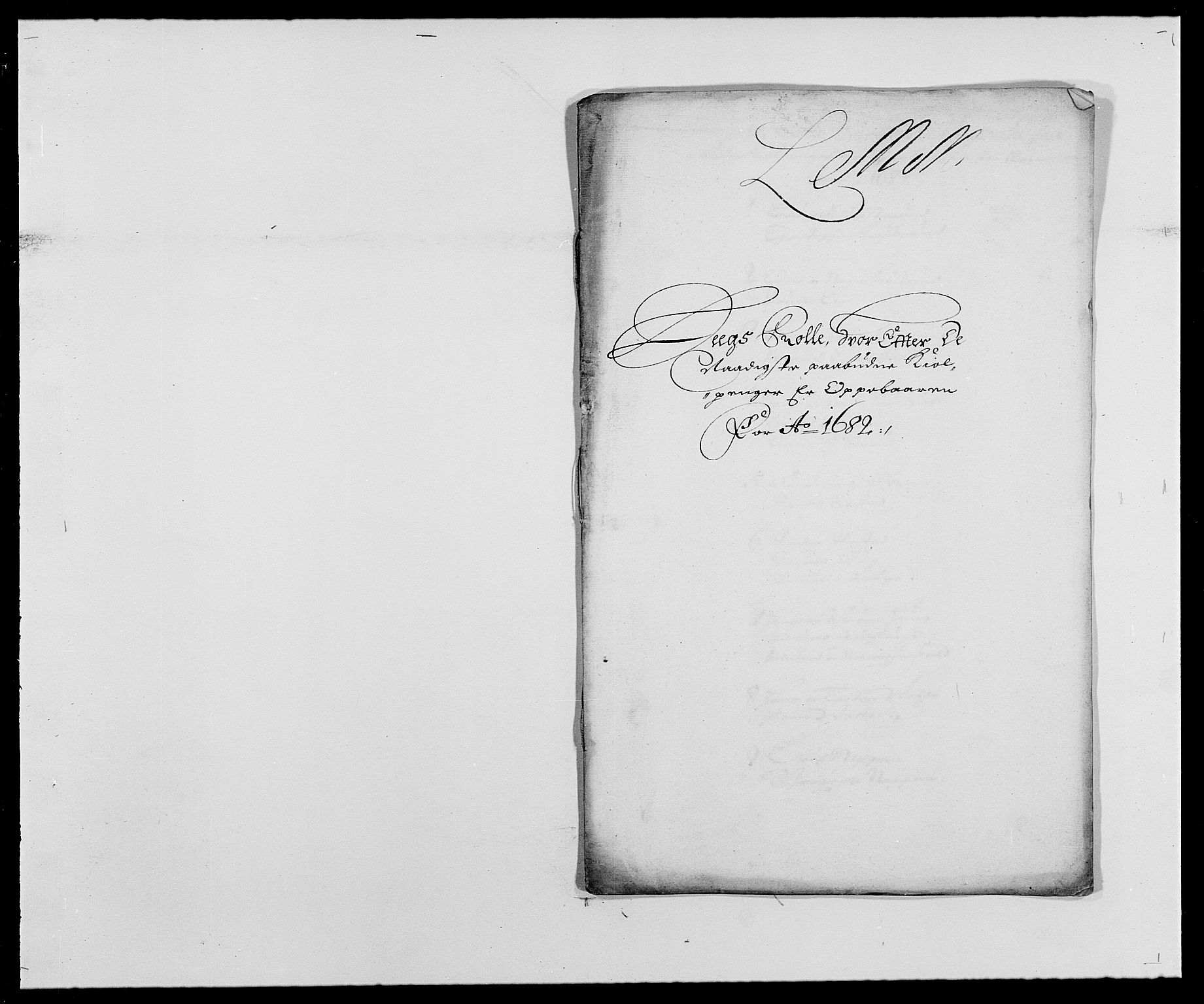 RA, Rentekammeret inntil 1814, Reviderte regnskaper, Fogderegnskap, R27/L1686: Fogderegnskap Lier, 1678-1686, s. 416
