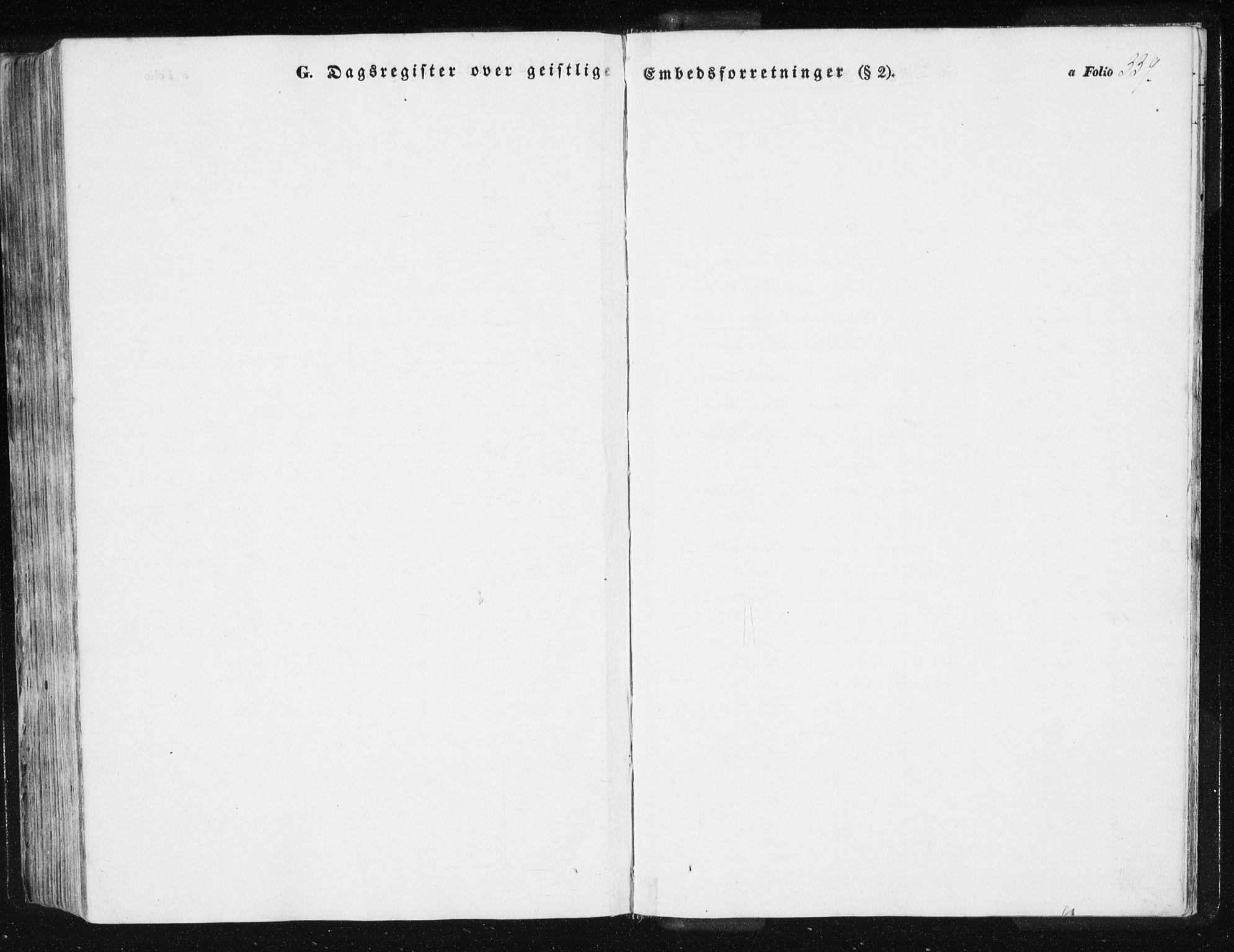 SAT, Ministerialprotokoller, klokkerbøker og fødselsregistre - Sør-Trøndelag, 612/L0376: Ministerialbok nr. 612A08, 1846-1859, s. 339