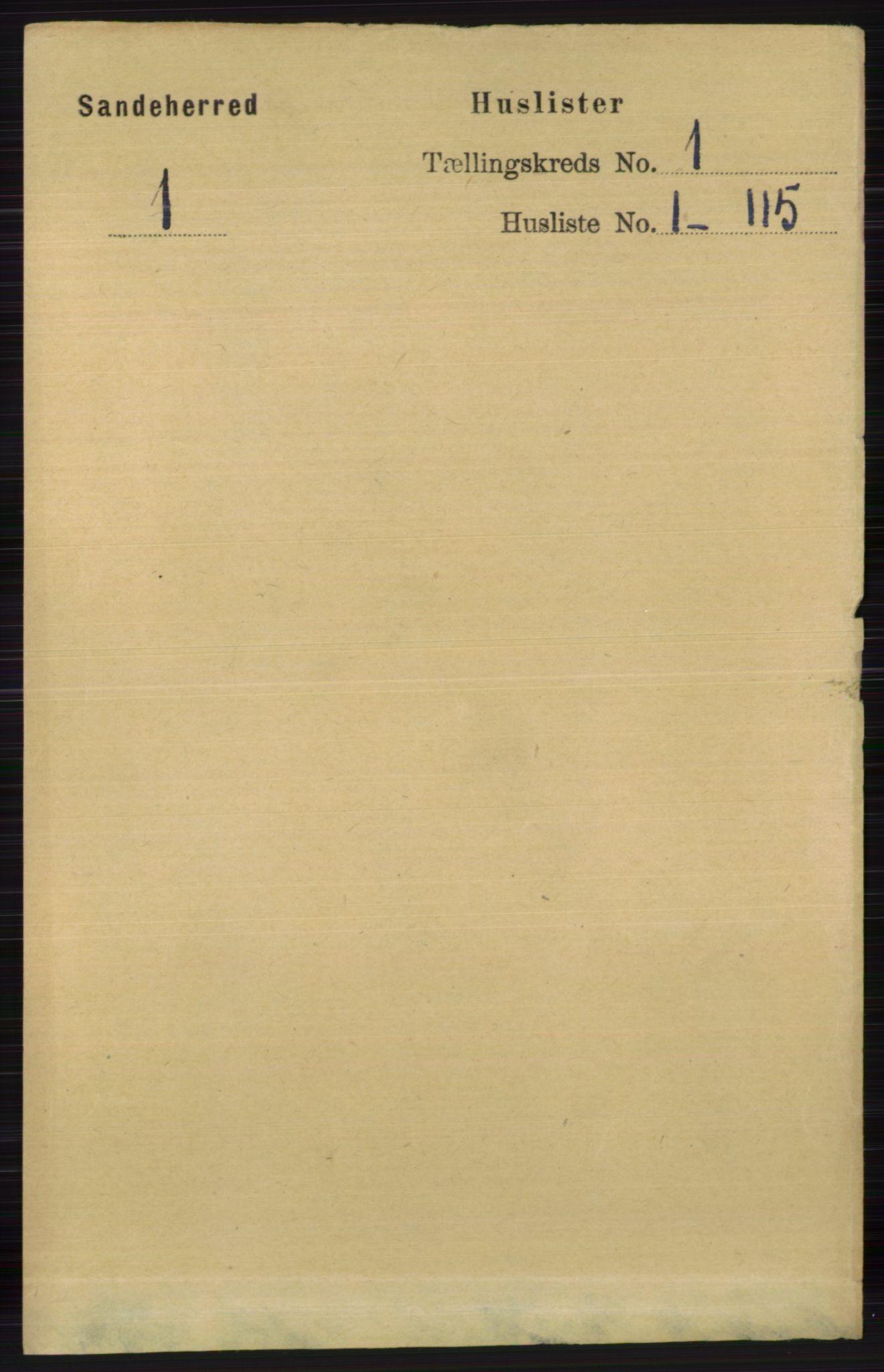RA, Folketelling 1891 for 0724 Sandeherred herred, 1891, s. 46