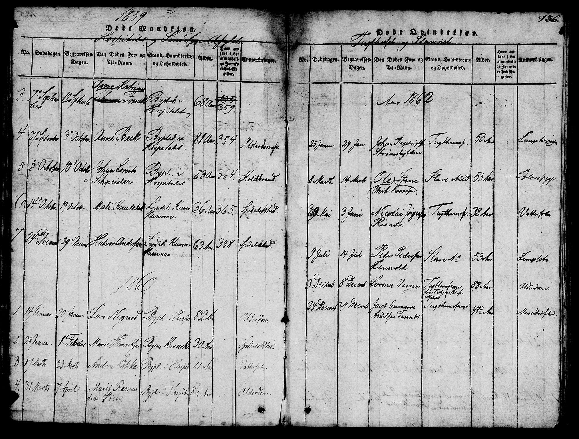 SAT, Ministerialprotokoller, klokkerbøker og fødselsregistre - Sør-Trøndelag, 623/L0478: Klokkerbok nr. 623C01, 1815-1873, s. 136