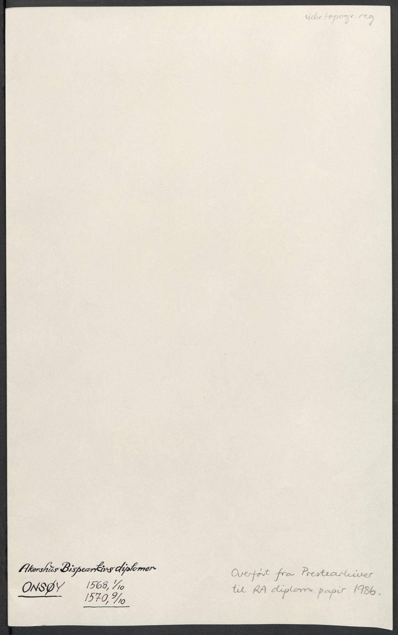 RA, Riksarkivets diplomsamling, F02/L0075: Dokumenter, 1570-1571, s. 29