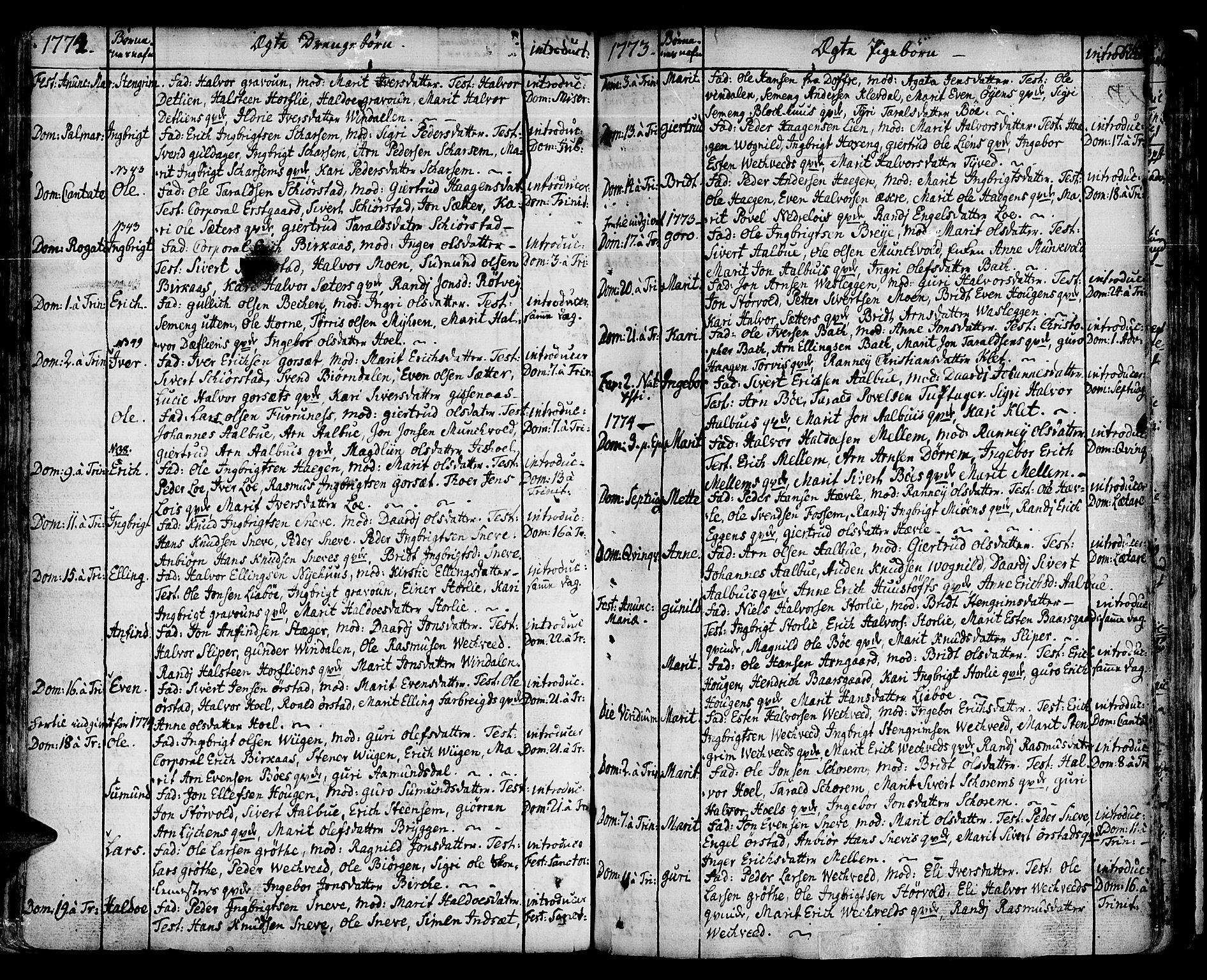 SAT, Ministerialprotokoller, klokkerbøker og fødselsregistre - Sør-Trøndelag, 678/L0891: Ministerialbok nr. 678A01, 1739-1780, s. 136