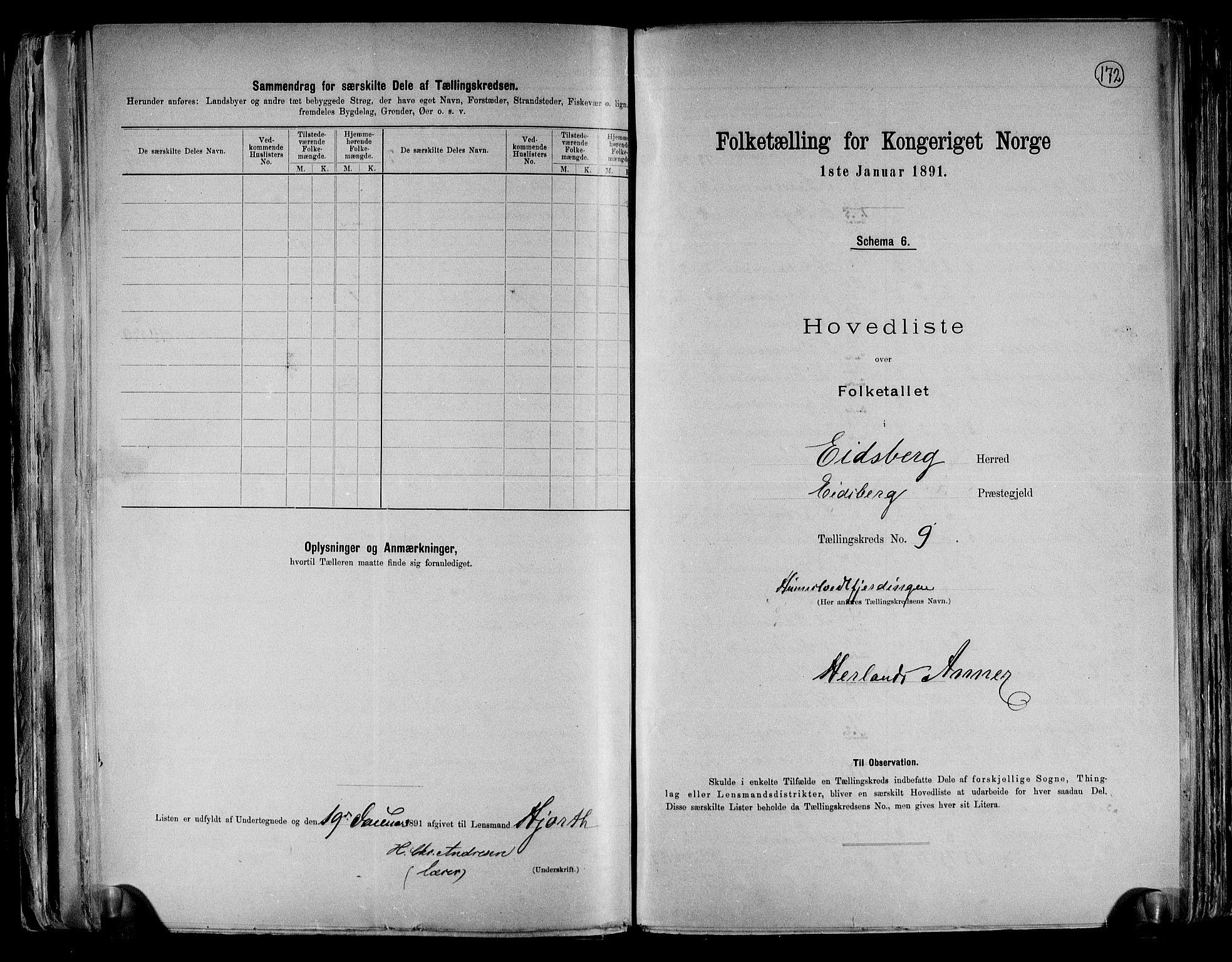 RA, Folketelling 1891 for 0125 Eidsberg herred, 1891, s. 24