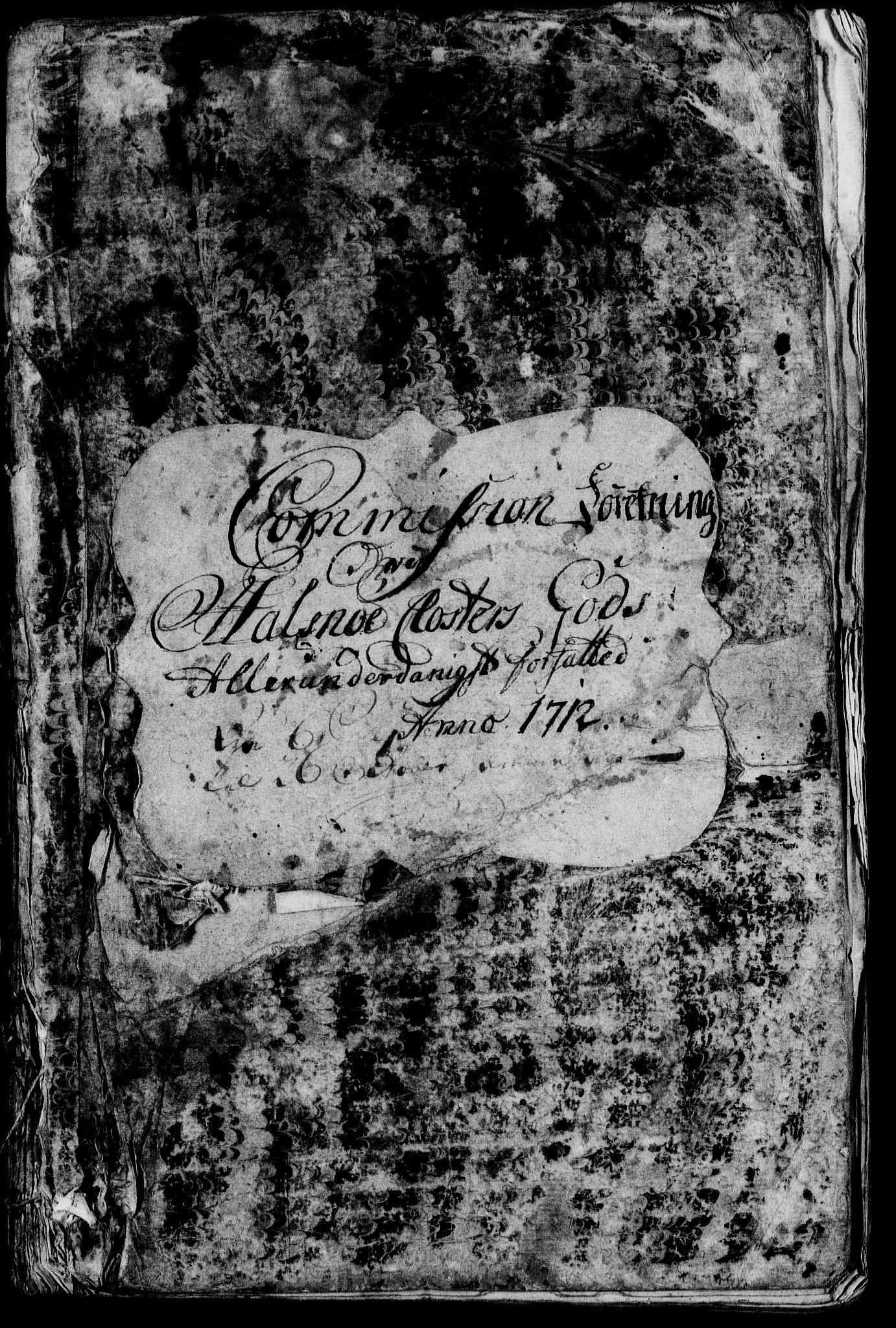 RA, Rentekammeret inntil 1814, Realistisk ordnet avdeling, On/L0003: [Jj 4]: Kommisjonsforretning over Vilhelm Hanssøns forpaktning av Halsnøy klosters gods, 1712-1722, s. upaginert