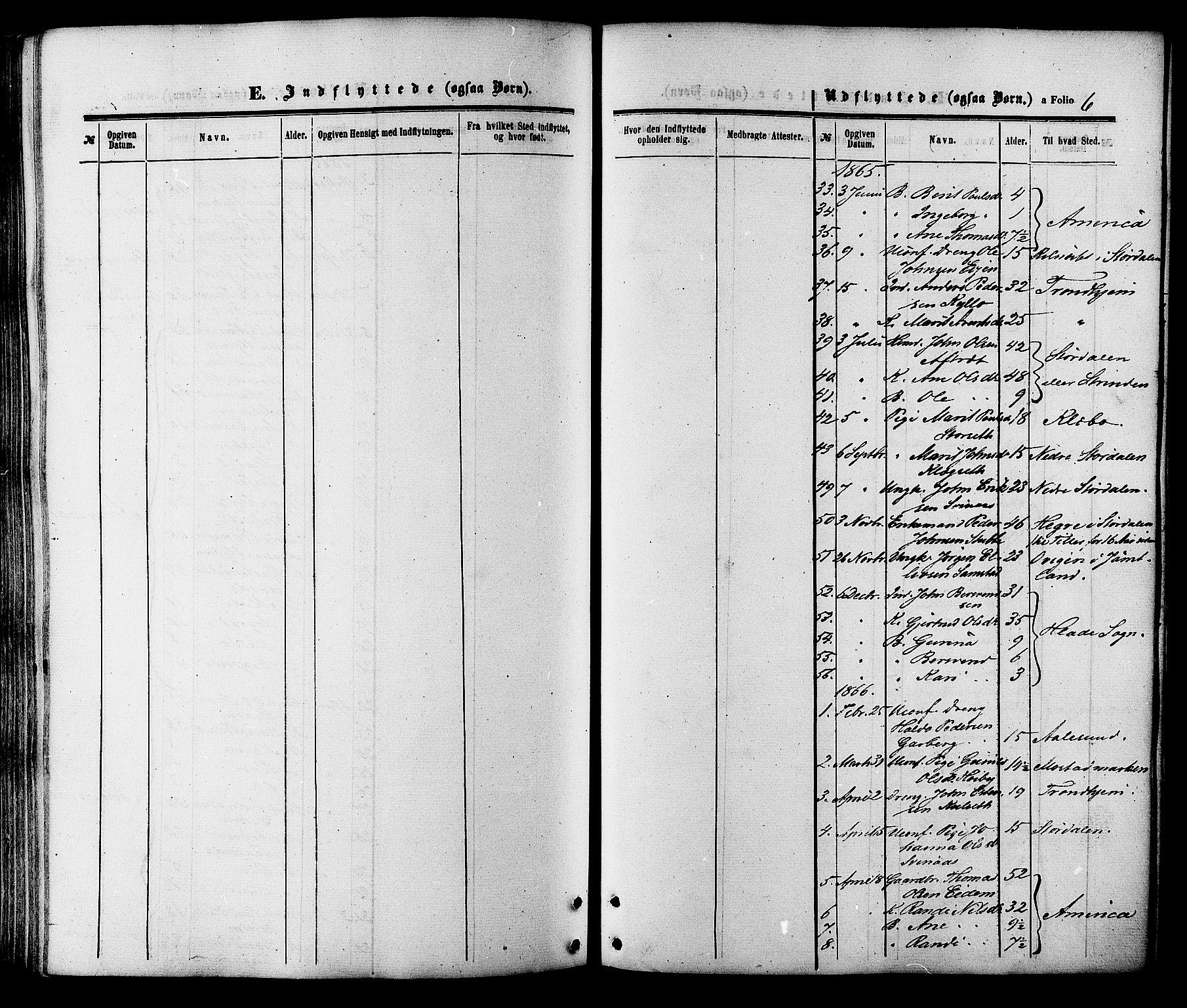SAT, Ministerialprotokoller, klokkerbøker og fødselsregistre - Sør-Trøndelag, 695/L1147: Ministerialbok nr. 695A07, 1860-1877, s. 6