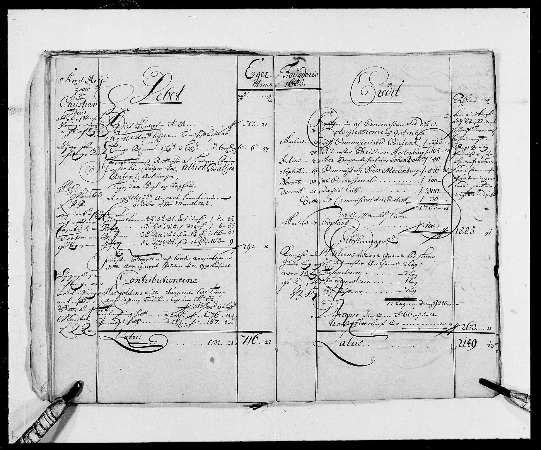 RA, Rentekammeret inntil 1814, Reviderte regnskaper, Fogderegnskap, R26/L1684: Fogderegnskap Eiker, 1679-1686, s. 23