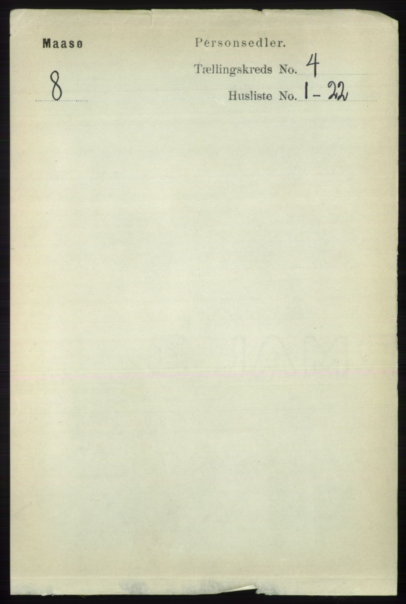 RA, Folketelling 1891 for 2018 Måsøy herred, 1891, s. 529