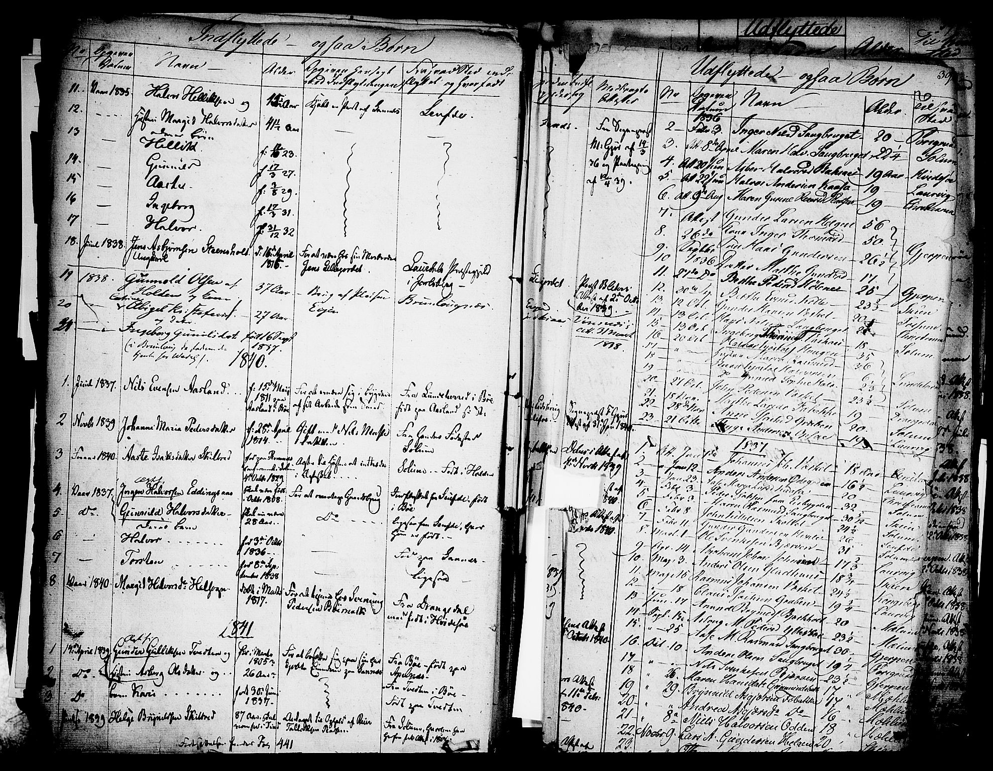SAKO, Holla kirkebøker, F/Fa/L0004: Ministerialbok nr. 4, 1830-1848, s. 396