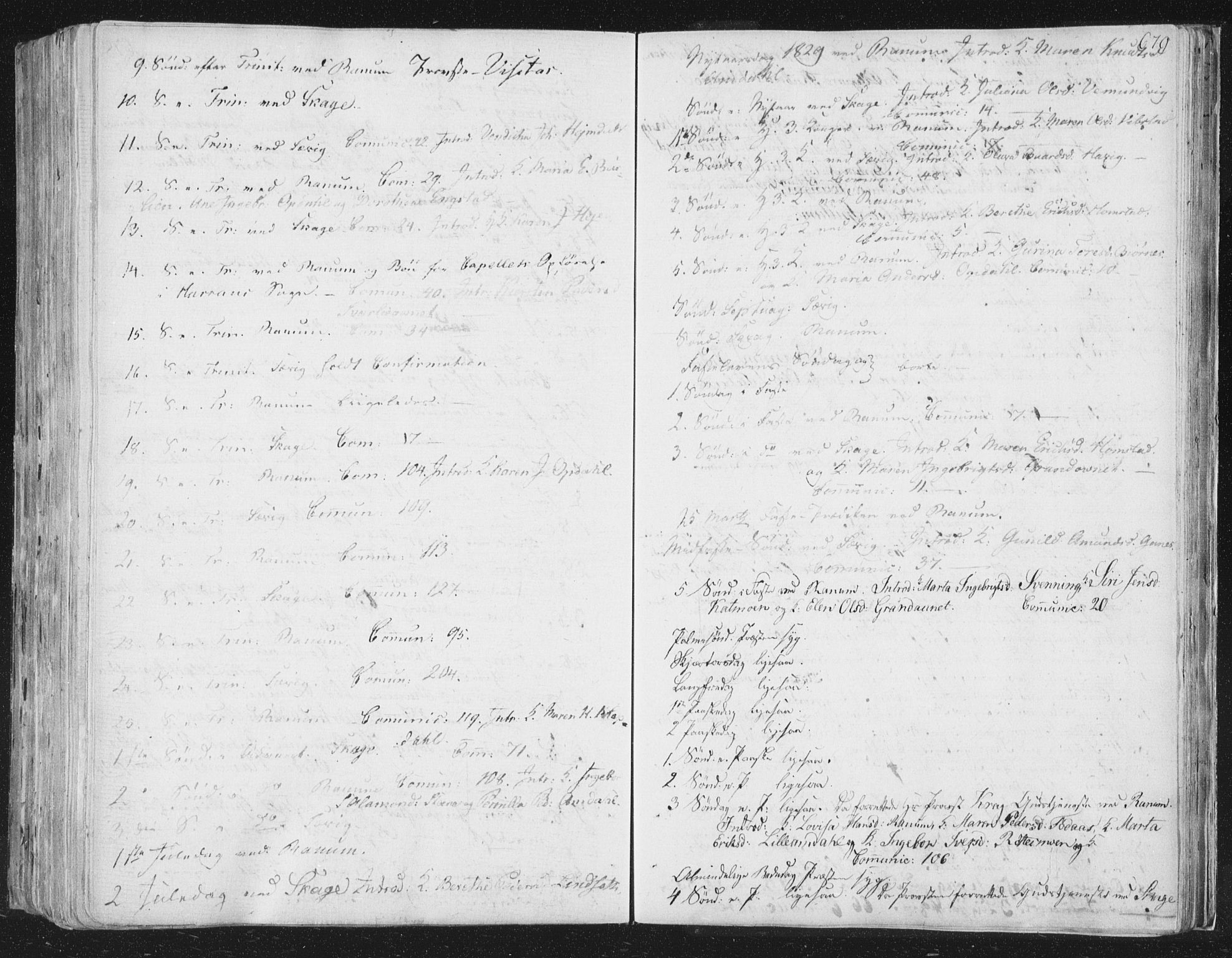 SAT, Ministerialprotokoller, klokkerbøker og fødselsregistre - Nord-Trøndelag, 764/L0552: Ministerialbok nr. 764A07b, 1824-1865, s. 679