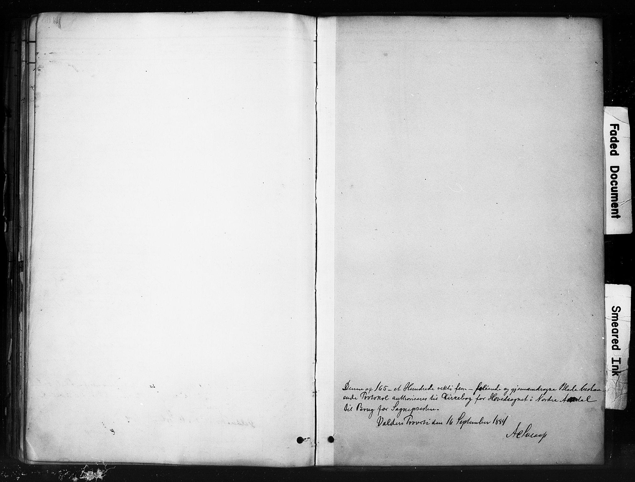 SAH, Nord-Aurdal prestekontor, Ministerialbok nr. 13, 1883-1895