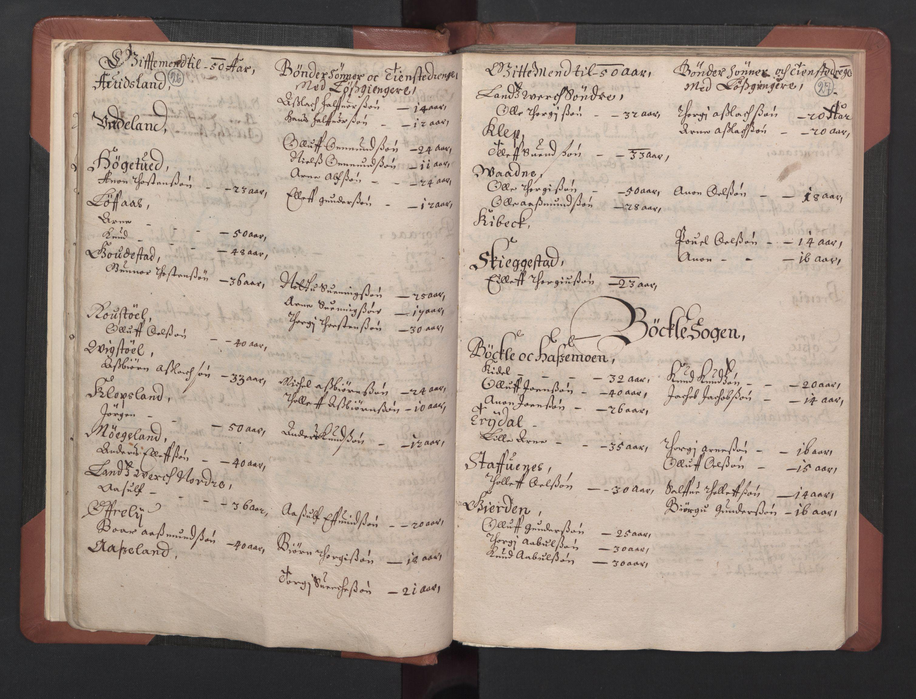 RA, Fogdenes og sorenskrivernes manntall 1664-1666, nr. 8: Råbyggelaget fogderi, 1664-1665, s. 26-27