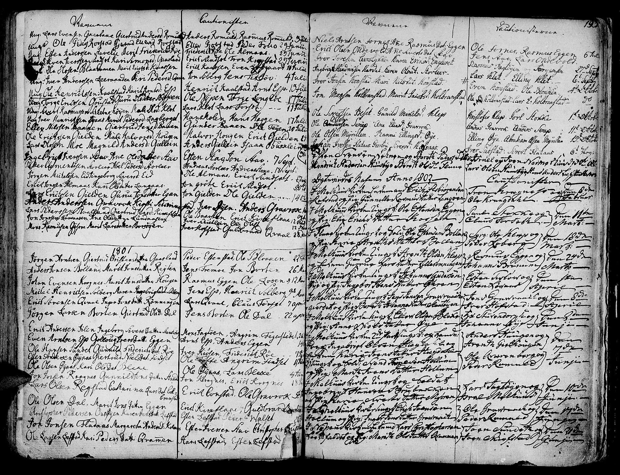 SAT, Ministerialprotokoller, klokkerbøker og fødselsregistre - Sør-Trøndelag, 691/L1061: Ministerialbok nr. 691A02 /1, 1768-1815, s. 193