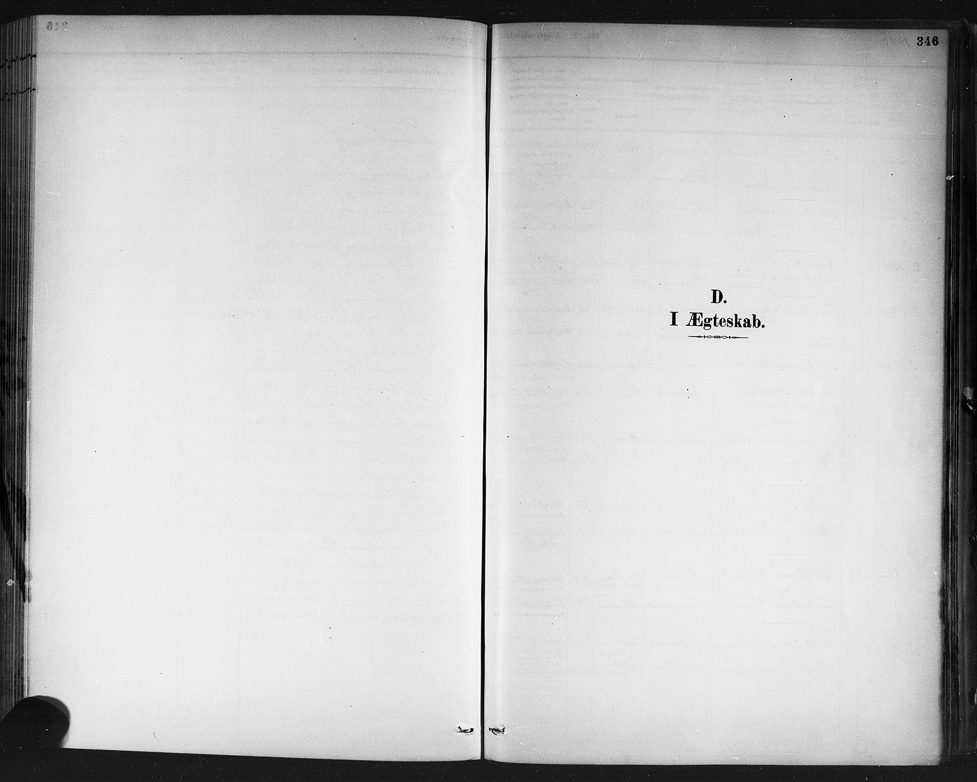 SAKO, Porsgrunn kirkebøker , G/Gb/L0005: Klokkerbok nr. II 5, 1883-1915, s. 346
