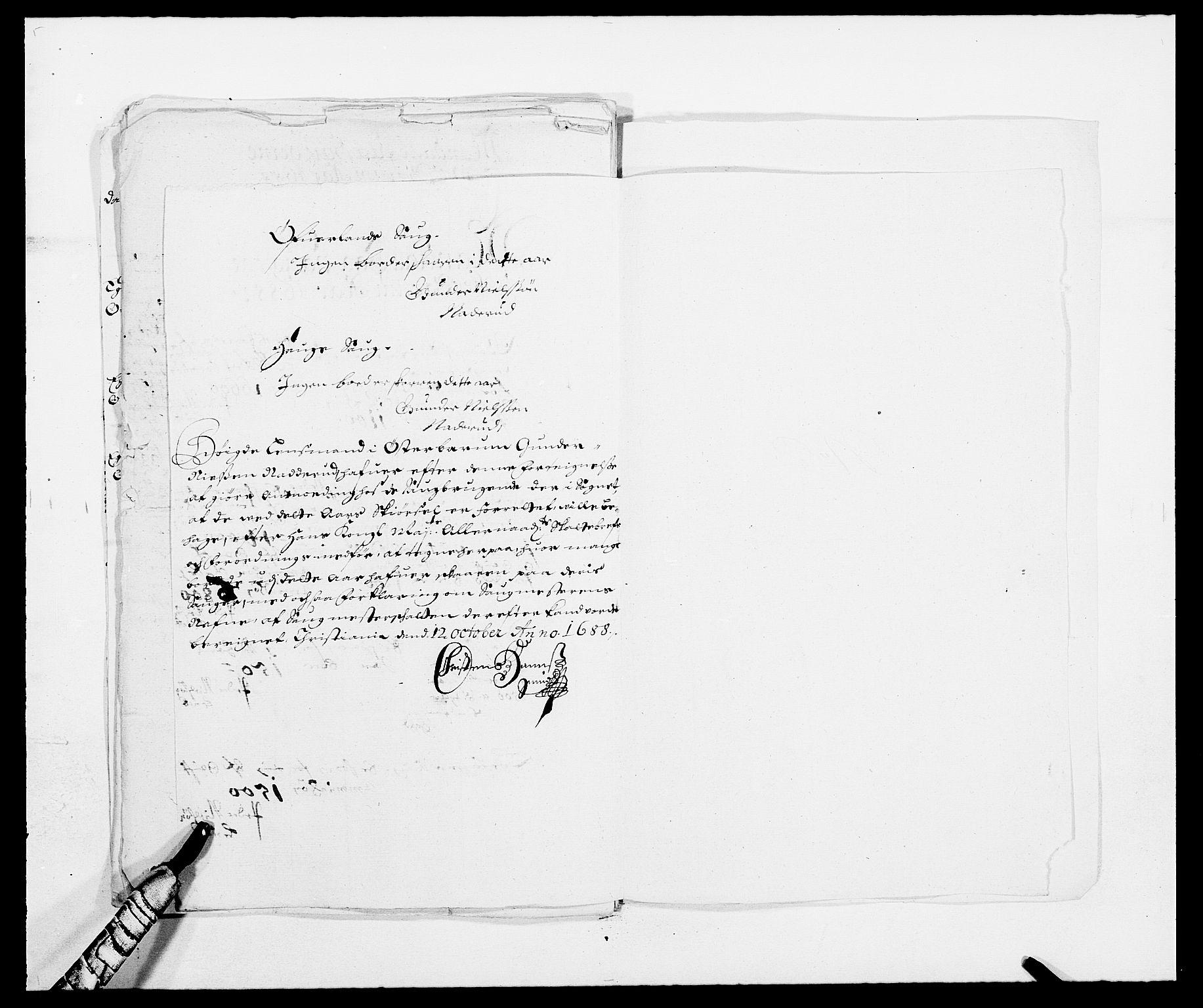RA, Rentekammeret inntil 1814, Reviderte regnskaper, Fogderegnskap, R08/L0422: Fogderegnskap Aker, 1684-1686, s. 348