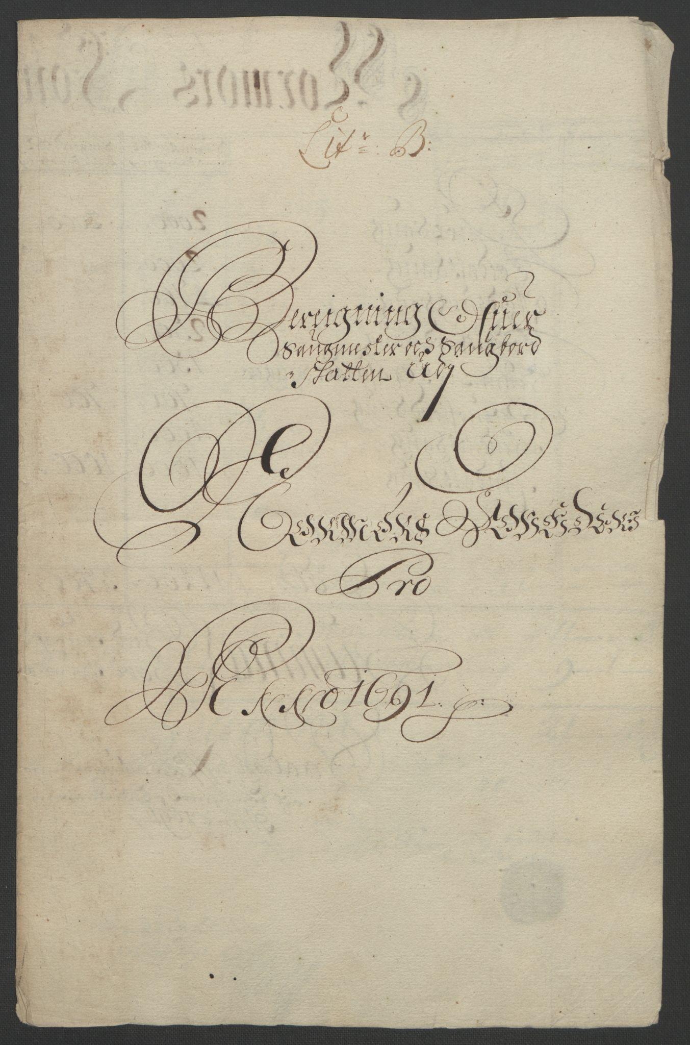 RA, Rentekammeret inntil 1814, Reviderte regnskaper, Fogderegnskap, R56/L3734: Fogderegnskap Nordmøre, 1690-1691, s. 285