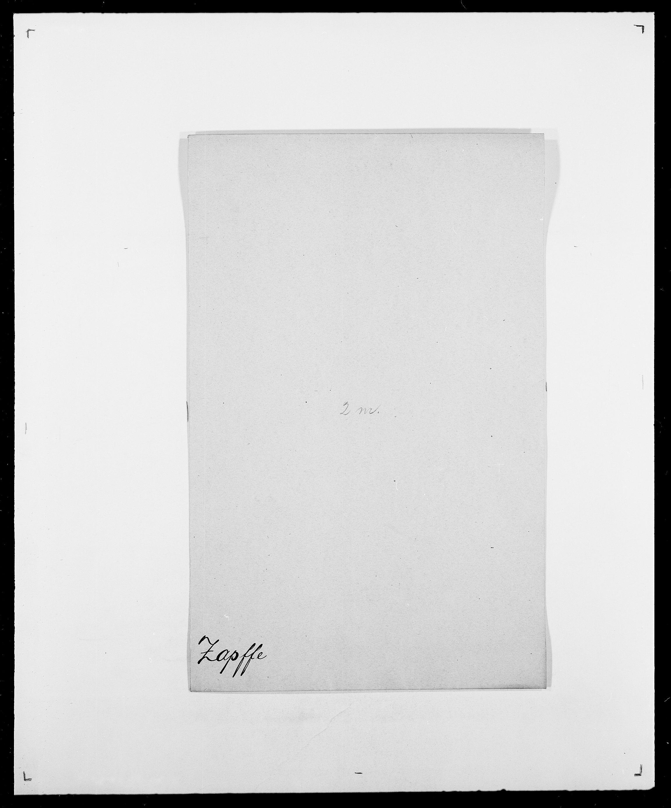 SAO, Delgobe, Charles Antoine - samling, D/Da/L0043: Wulfsberg - v. Zanten, s. 94