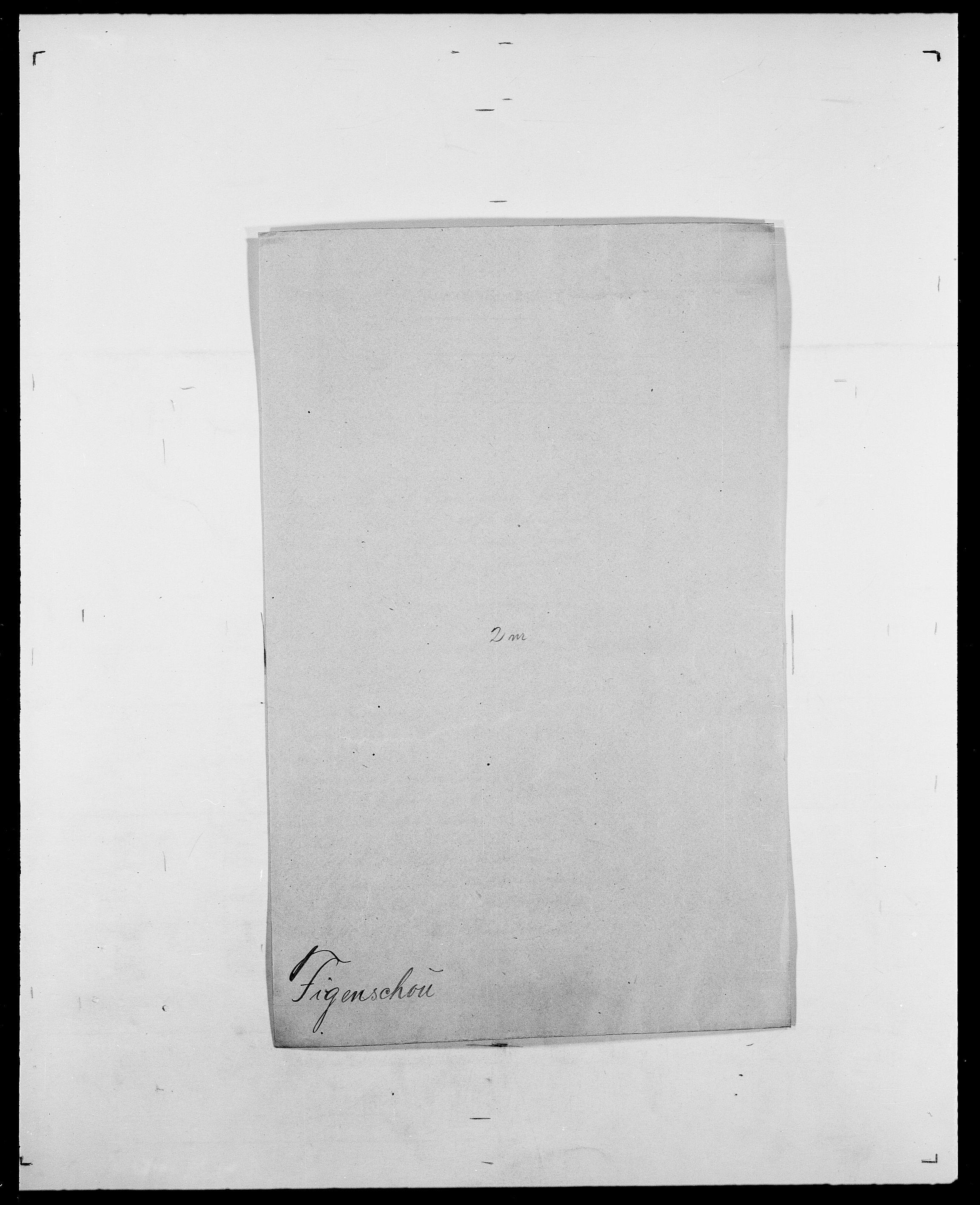 SAO, Delgobe, Charles Antoine - samling, D/Da/L0011: Fahlander - Flood, Flod, s. 425