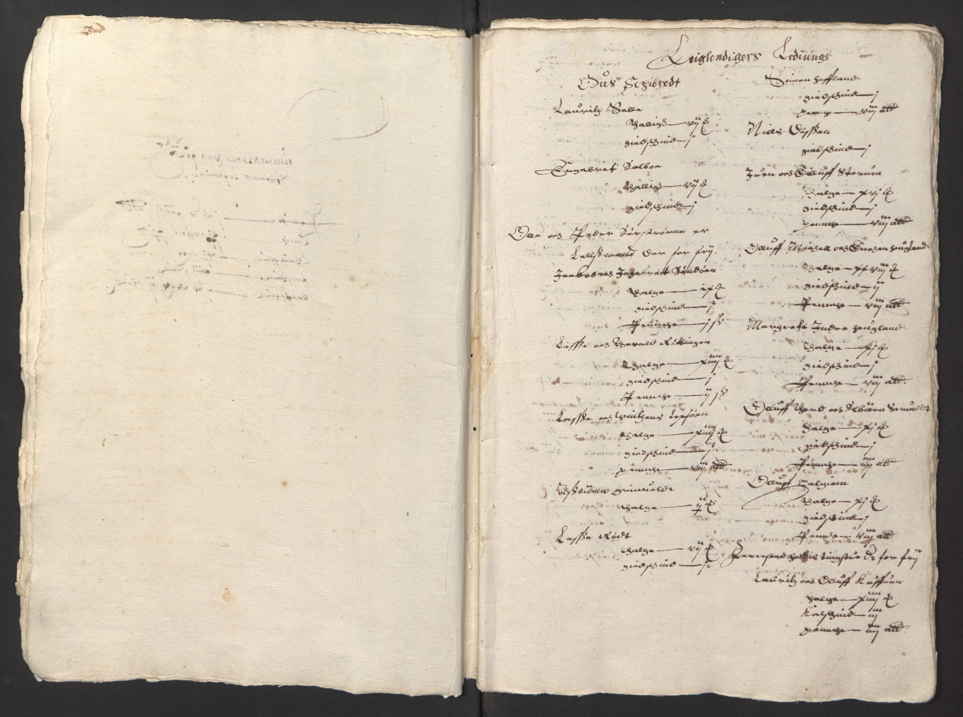 RA, Stattholderembetet 1572-1771, Ek/L0003: Jordebøker til utlikning av garnisonsskatt 1624-1626:, 1624-1625, s. 9