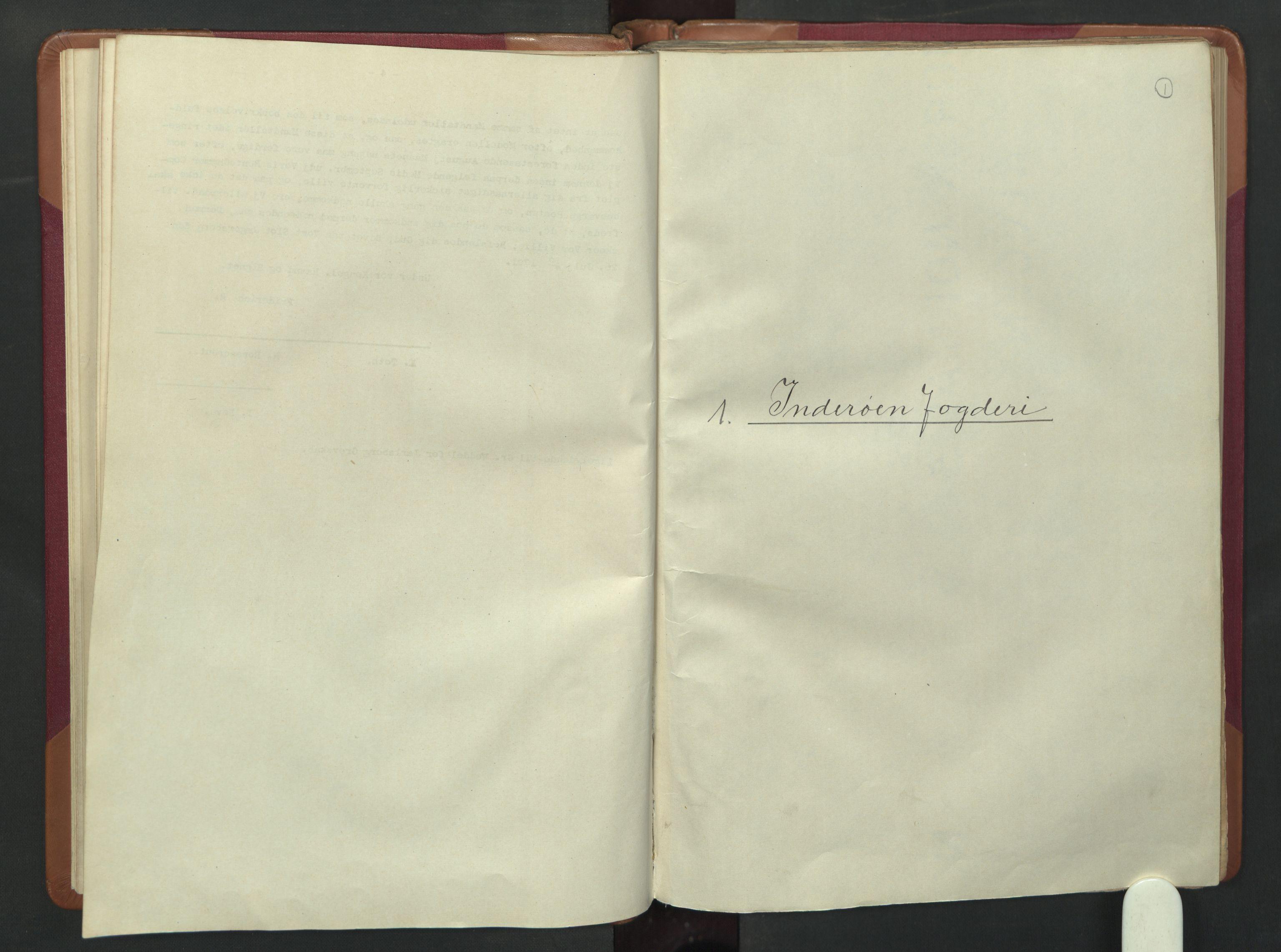 RA, Manntallet 1701, nr. 15: Inderøy fogderi og Namdal fogderi, 1701, s. 1