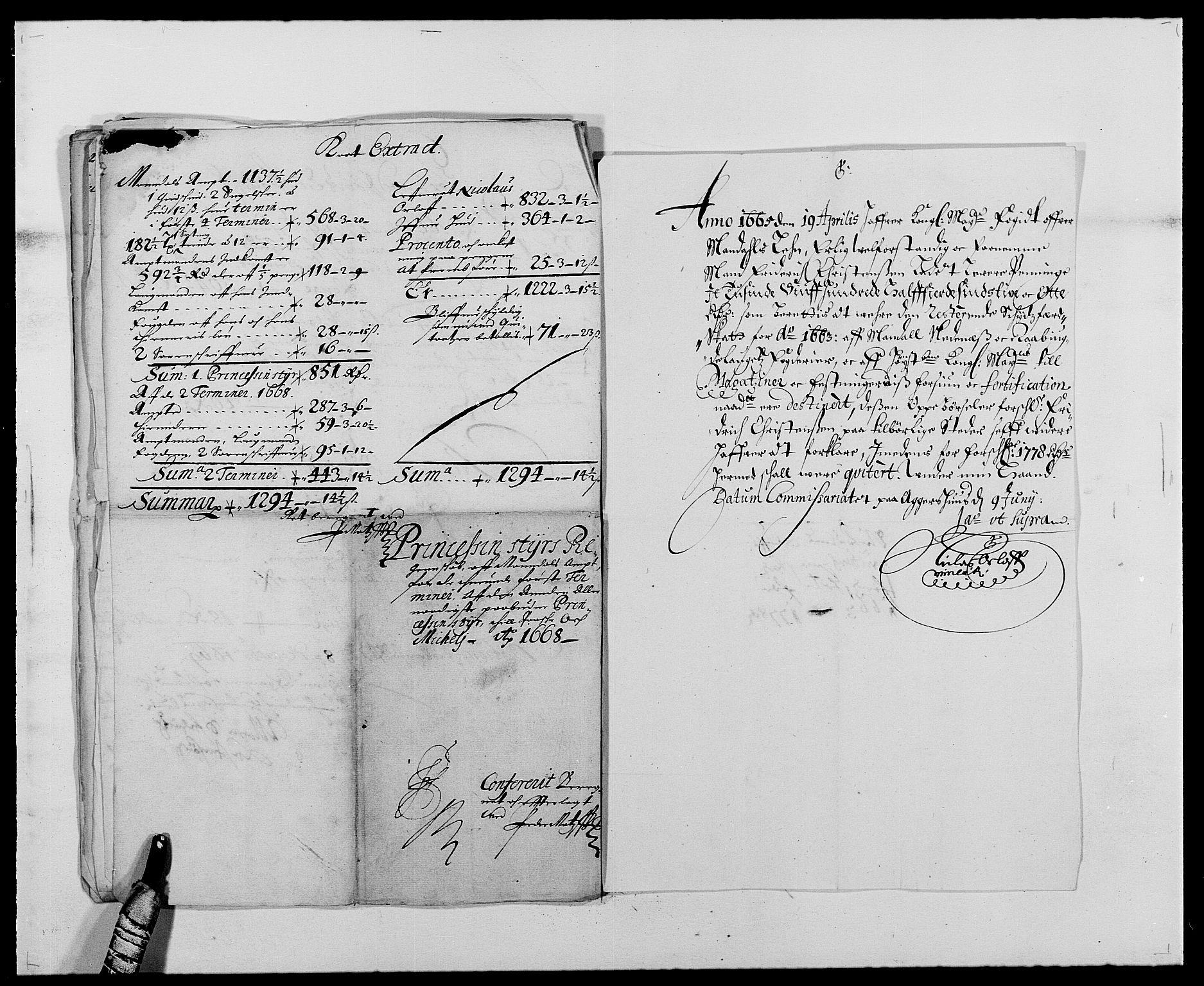 RA, Rentekammeret inntil 1814, Reviderte regnskaper, Fogderegnskap, R42/L2538: Mandal fogderi, 1667-1670, s. 183