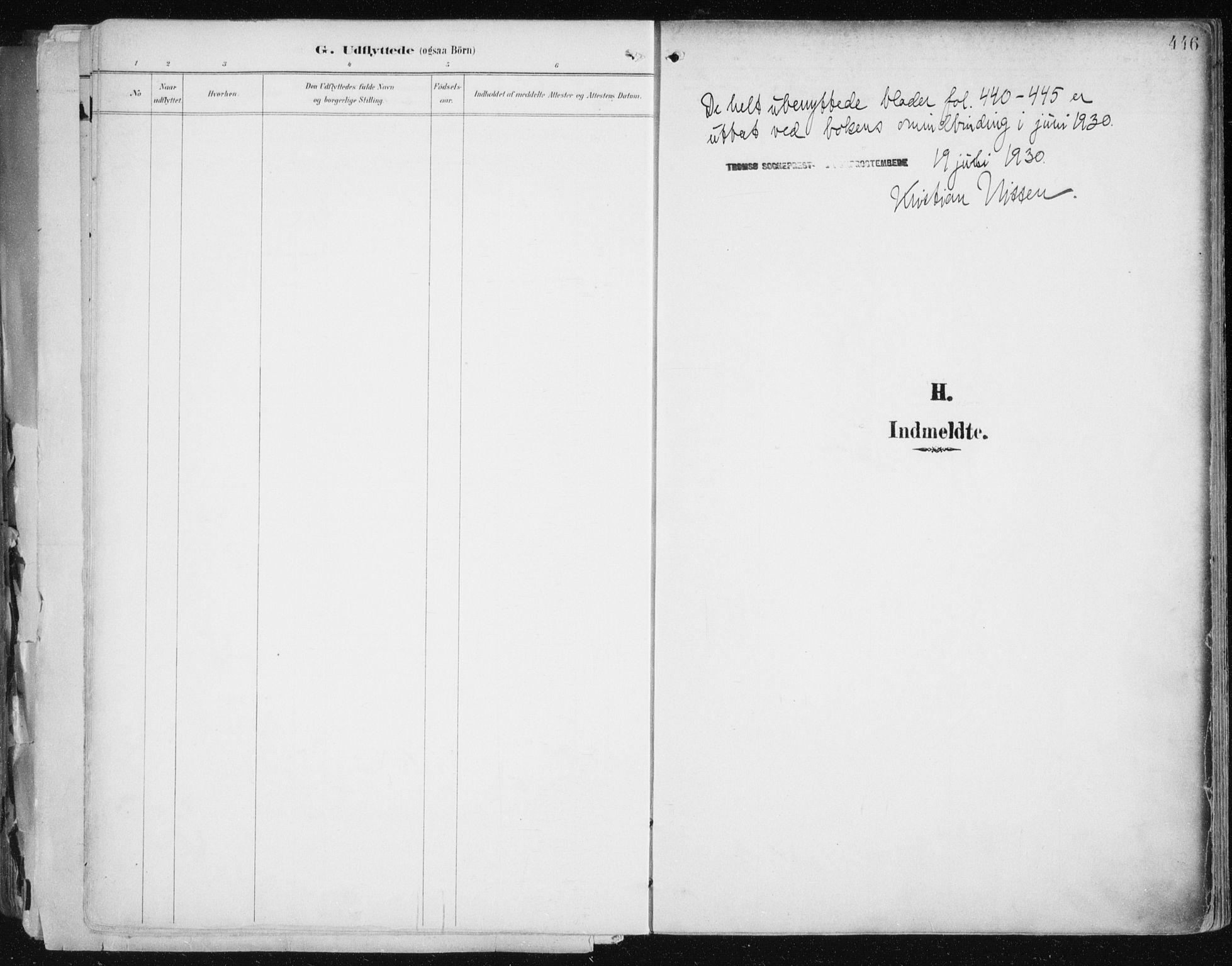 SATØ, Tromsø sokneprestkontor/stiftsprosti/domprosti, G/Ga/L0015kirke: Ministerialbok nr. 15, 1889-1899, s. 446