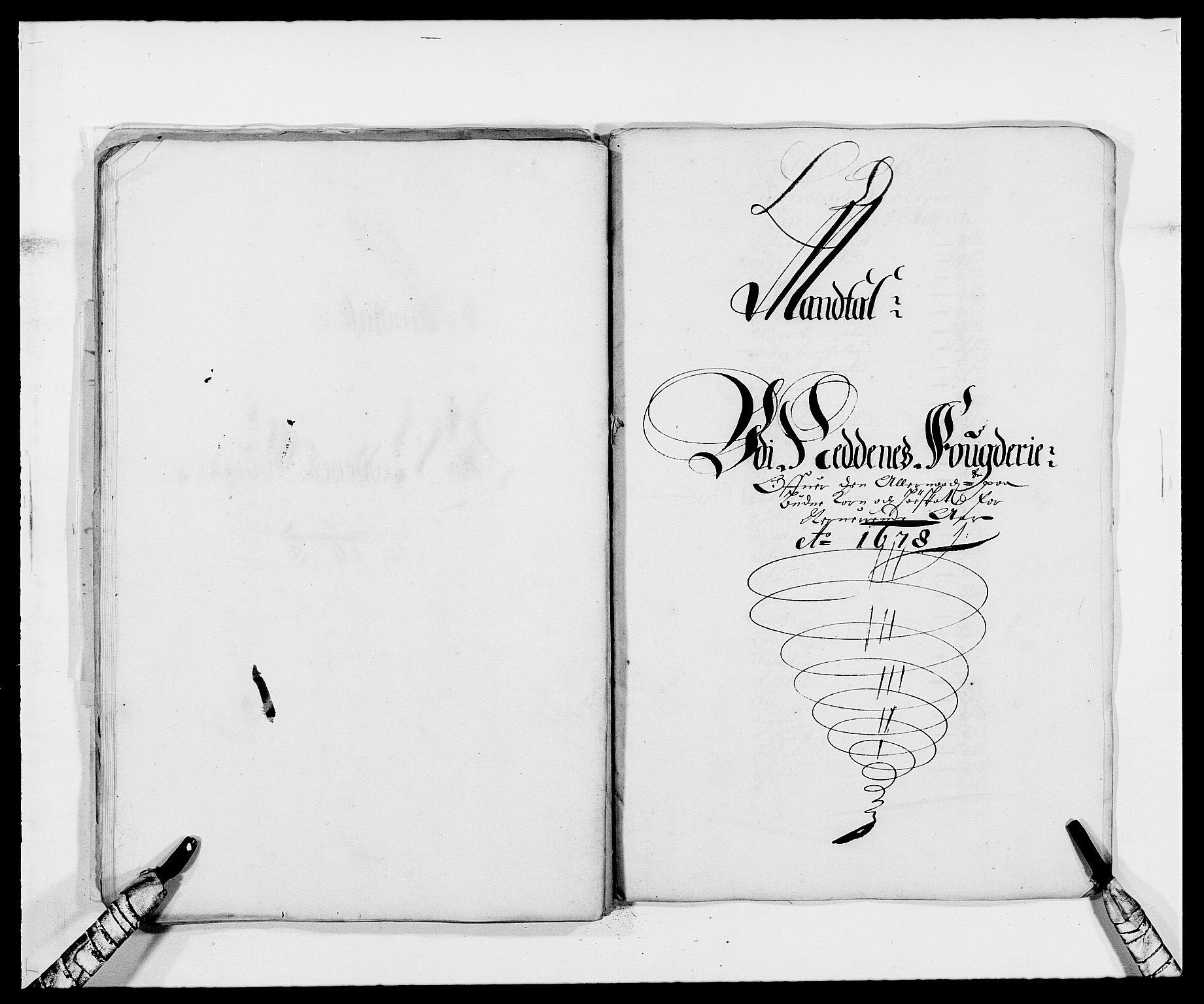 RA, Rentekammeret inntil 1814, Reviderte regnskaper, Fogderegnskap, R39/L2302: Fogderegnskap Nedenes, 1677-1678, s. 250