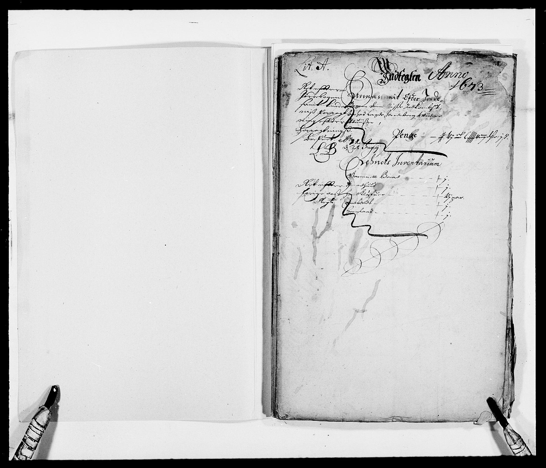 RA, Rentekammeret inntil 1814, Reviderte regnskaper, Fogderegnskap, R40/L2433: Fogderegnskap Råbyggelag, 1671-1674, s. 171