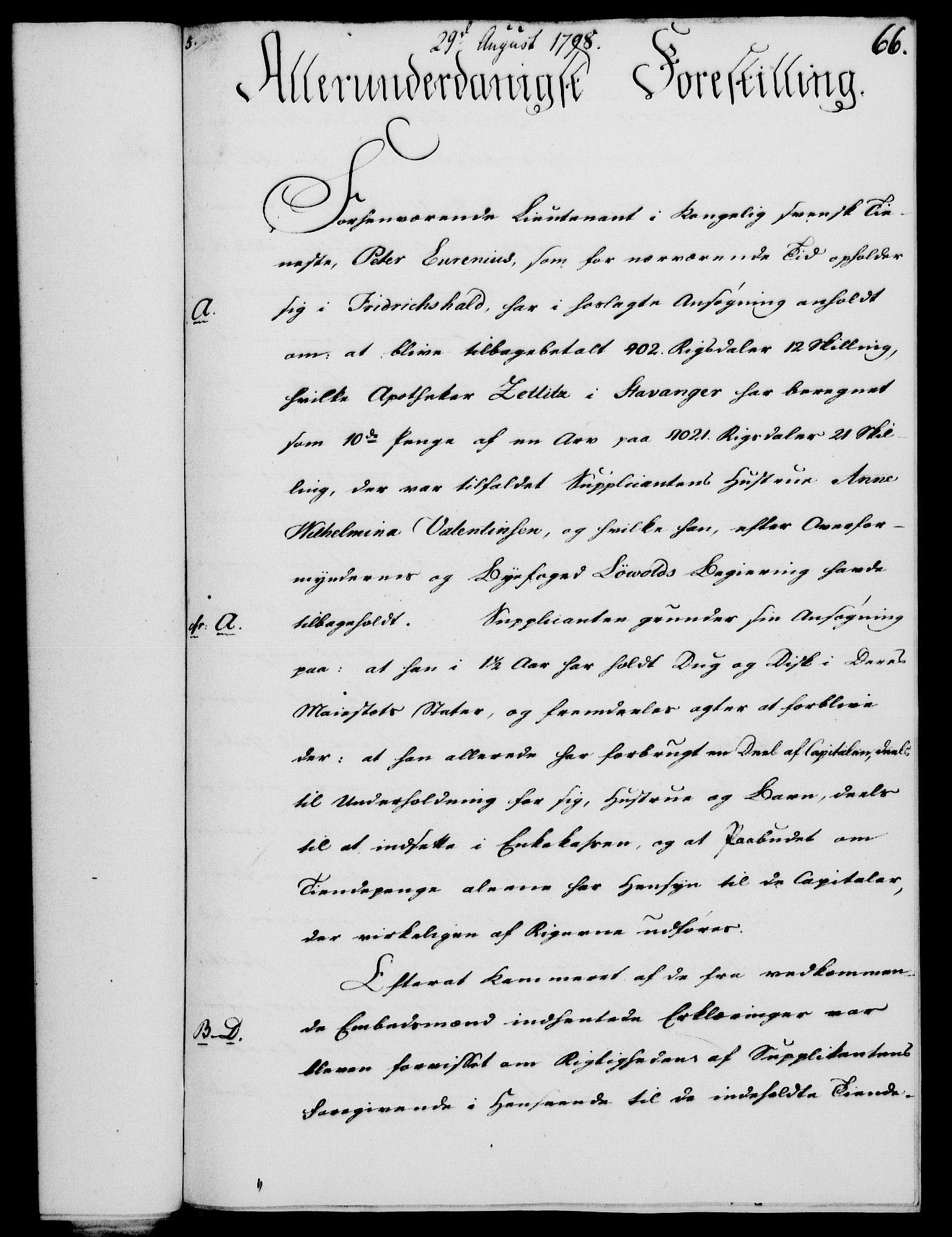 RA, Rentekammeret, Kammerkanselliet, G/Gf/Gfa/L0080: Norsk relasjons- og resolusjonsprotokoll (merket RK 52.80), 1798, s. 440