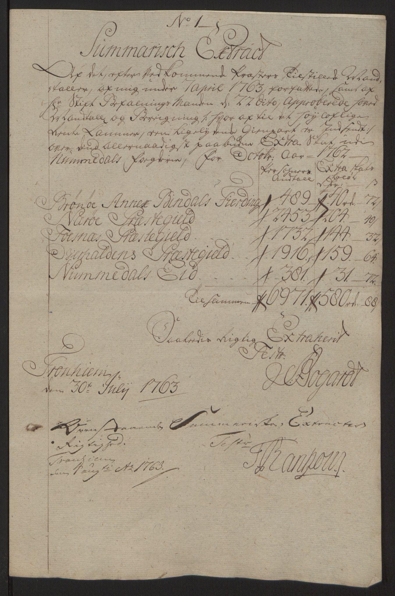 RA, Rentekammeret inntil 1814, Reviderte regnskaper, Fogderegnskap, R64/L4502: Ekstraskatten Namdal, 1762-1772, s. 39
