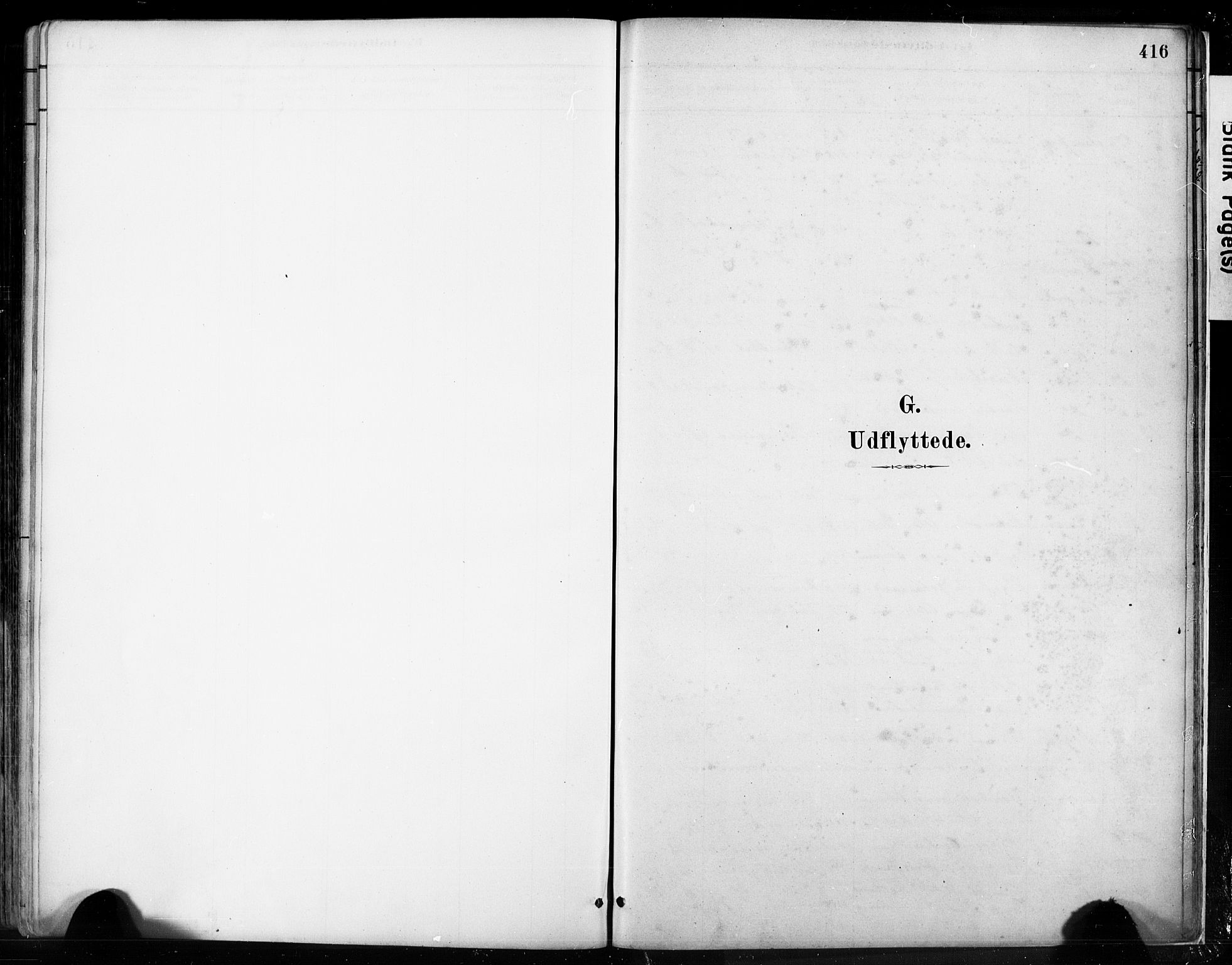 SAB, Fjell sokneprestembete, H/Hab: Klokkerbok nr. A 4, 1880-1899, s. 416
