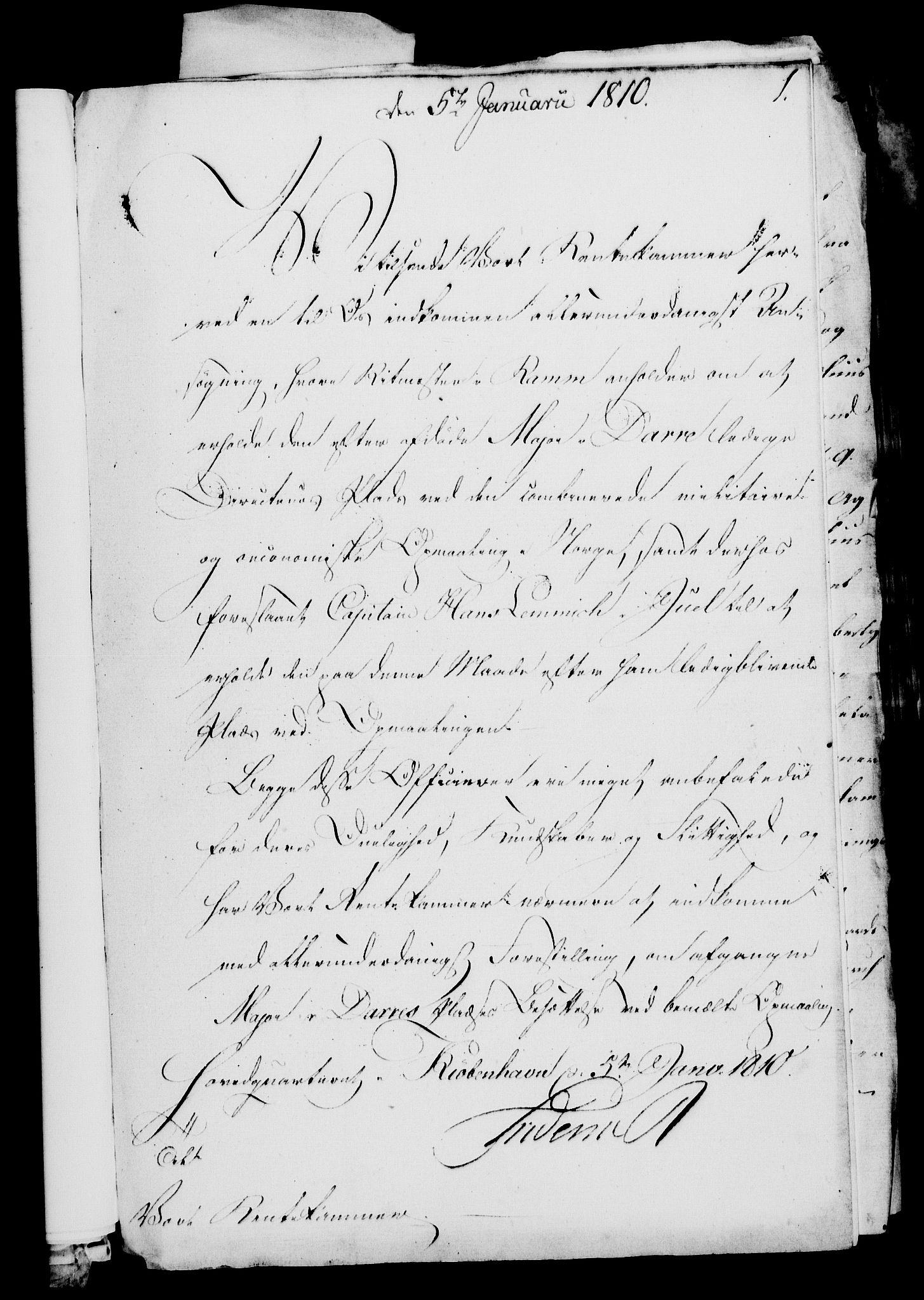 RA, Rentekammeret, Kammerkanselliet, G/Gf/Gfa/L0092: Norsk relasjons- og resolusjonsprotokoll (merket RK 52.92), 1810, s. 28