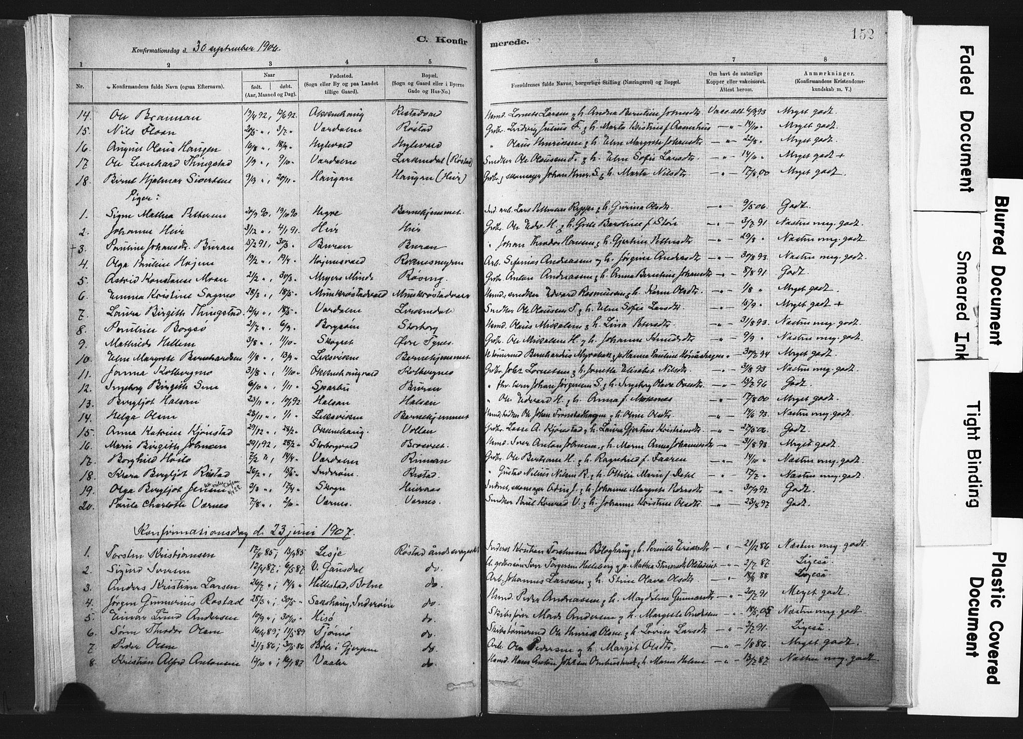 SAT, Ministerialprotokoller, klokkerbøker og fødselsregistre - Nord-Trøndelag, 721/L0207: Ministerialbok nr. 721A02, 1880-1911, s. 152