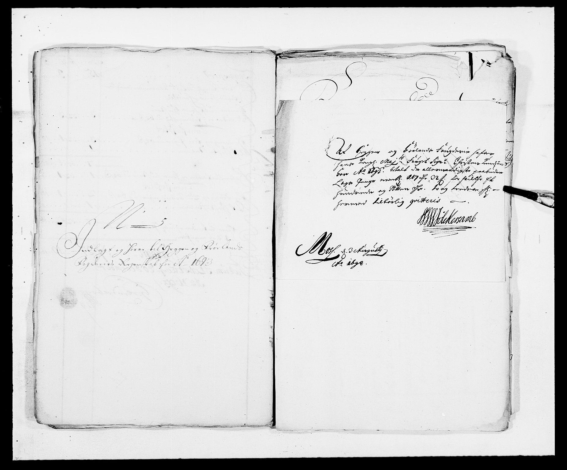 RA, Rentekammeret inntil 1814, Reviderte regnskaper, Fogderegnskap, R06/L0283: Fogderegnskap Heggen og Frøland, 1691-1693, s. 406