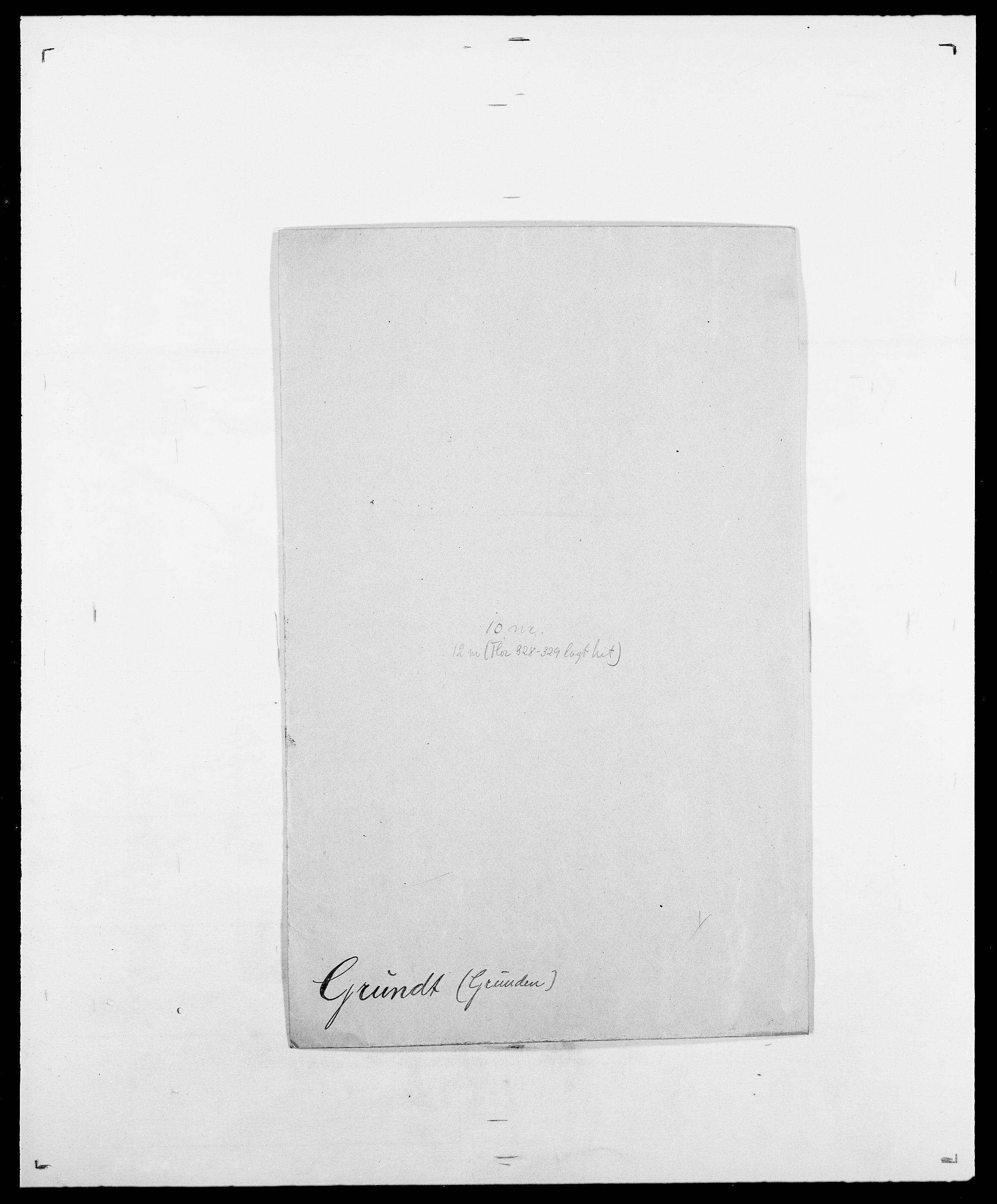 SAO, Delgobe, Charles Antoine - samling, D/Da/L0015: Grodtshilling - Halvorsæth, s. 79