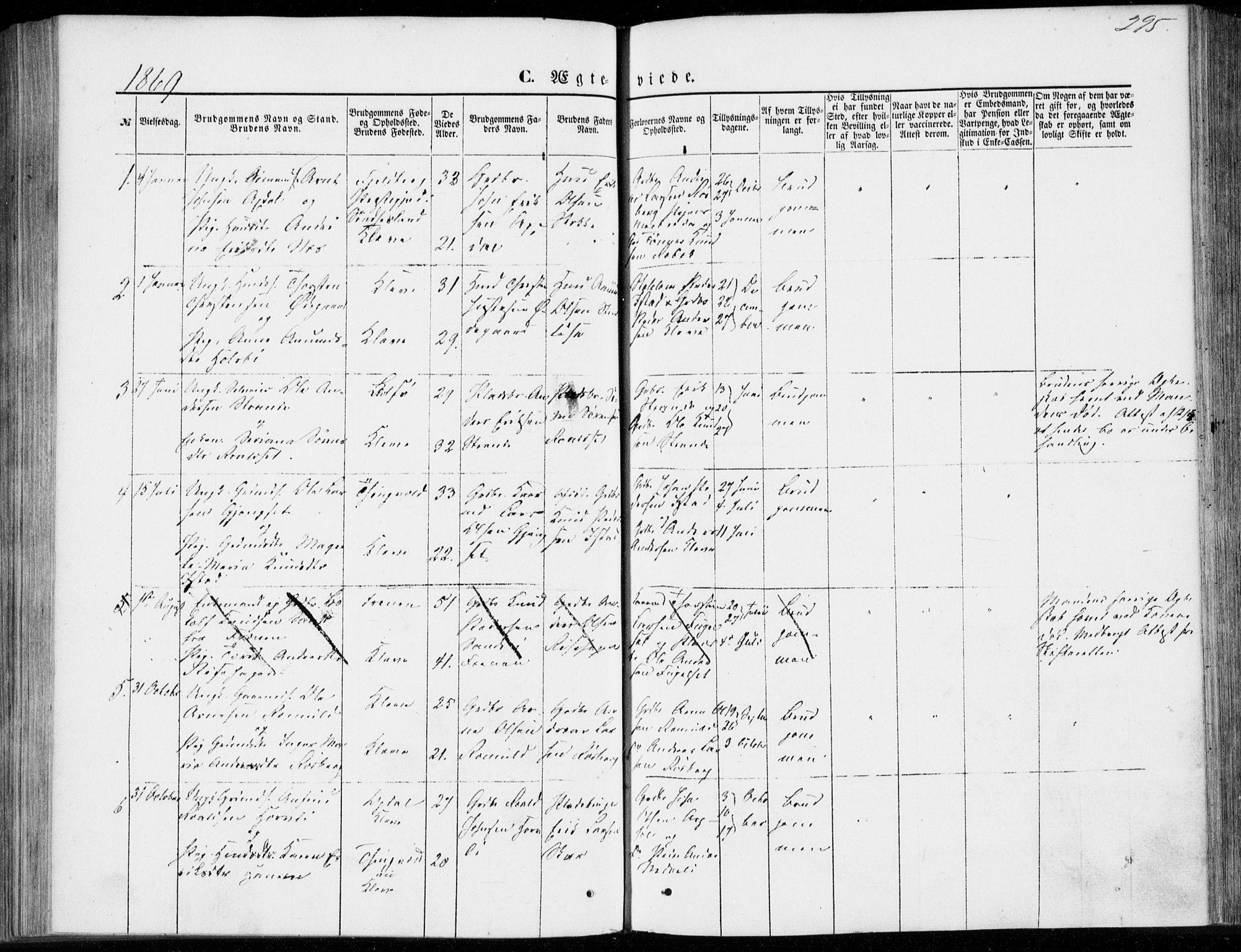 SAT, Ministerialprotokoller, klokkerbøker og fødselsregistre - Møre og Romsdal, 557/L0681: Ministerialbok nr. 557A03, 1869-1886, s. 295