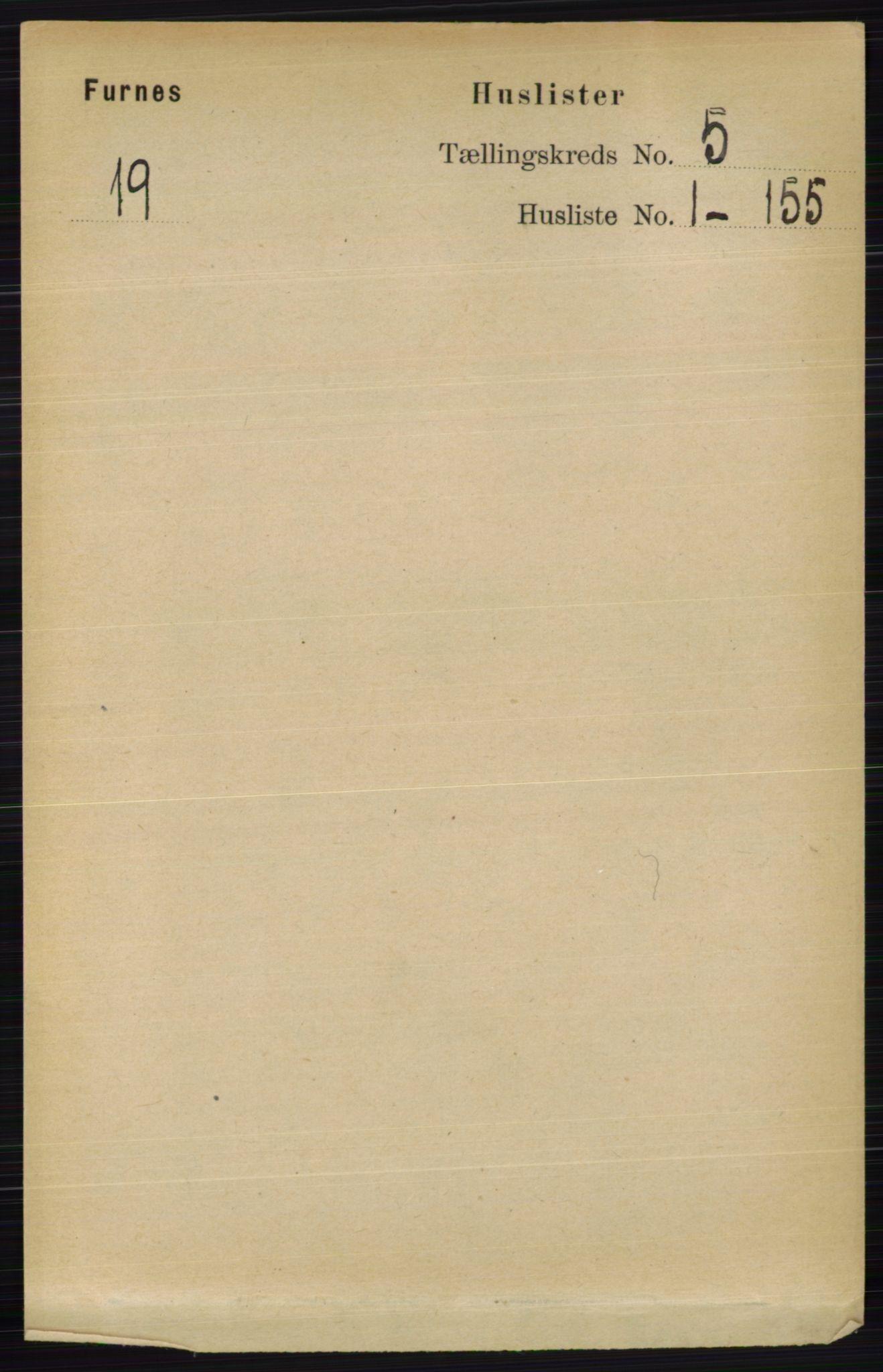RA, Folketelling 1891 for 0413 Furnes herred, 1891, s. 2998