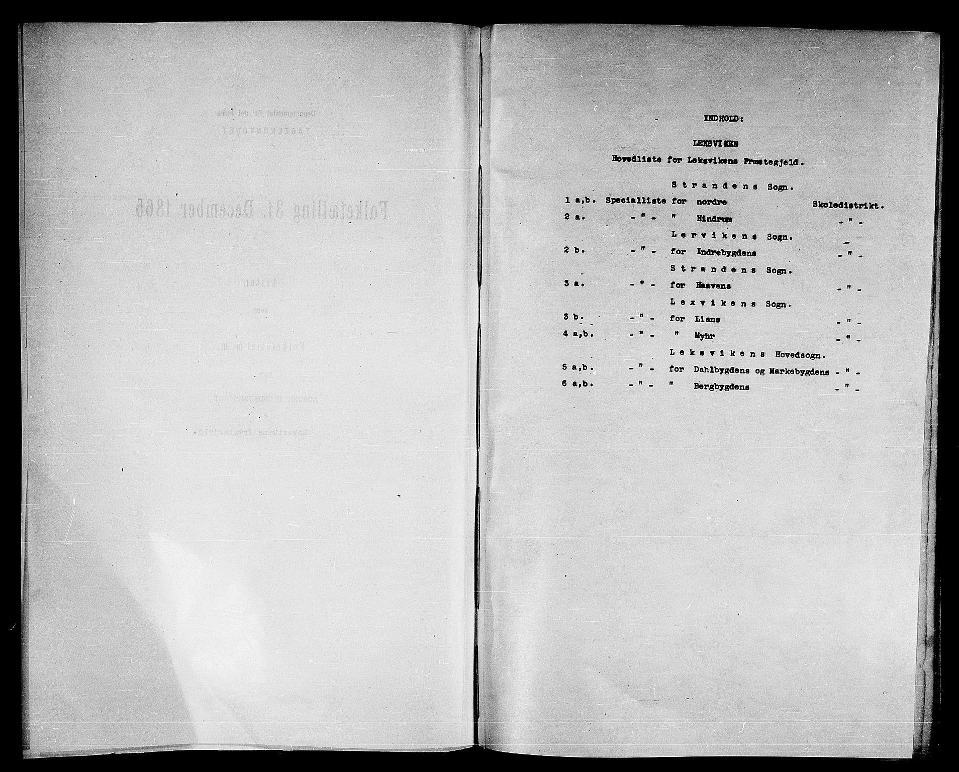 RA, Folketelling 1865 for 1718P Leksvik prestegjeld, 1865, s. 4