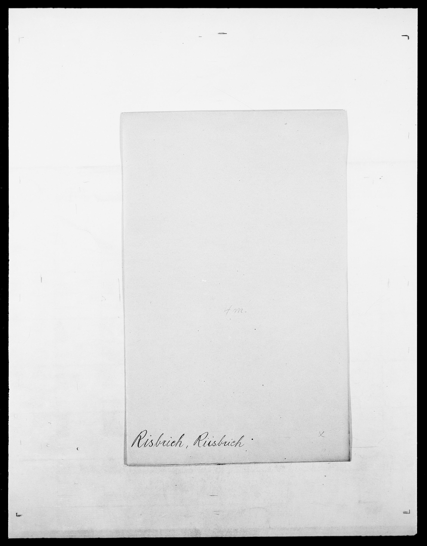 SAO, Delgobe, Charles Antoine - samling, D/Da/L0032: Rabakovsky - Rivertz, s. 749