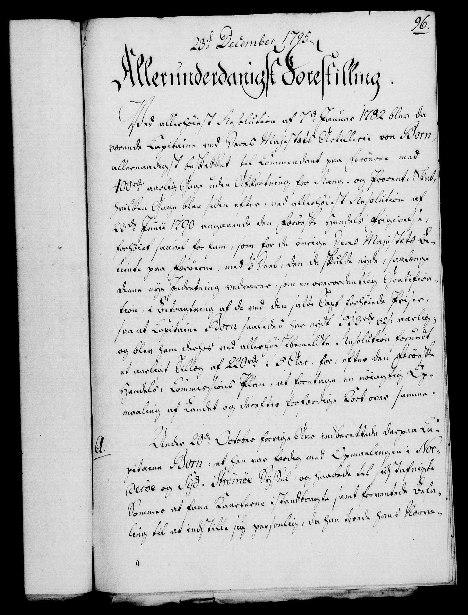 RA, Rentekammeret, Kammerkanselliet, G/Gf/Gfa/L0077: Norsk relasjons- og resolusjonsprotokoll (merket RK 52.77), 1795, s. 459