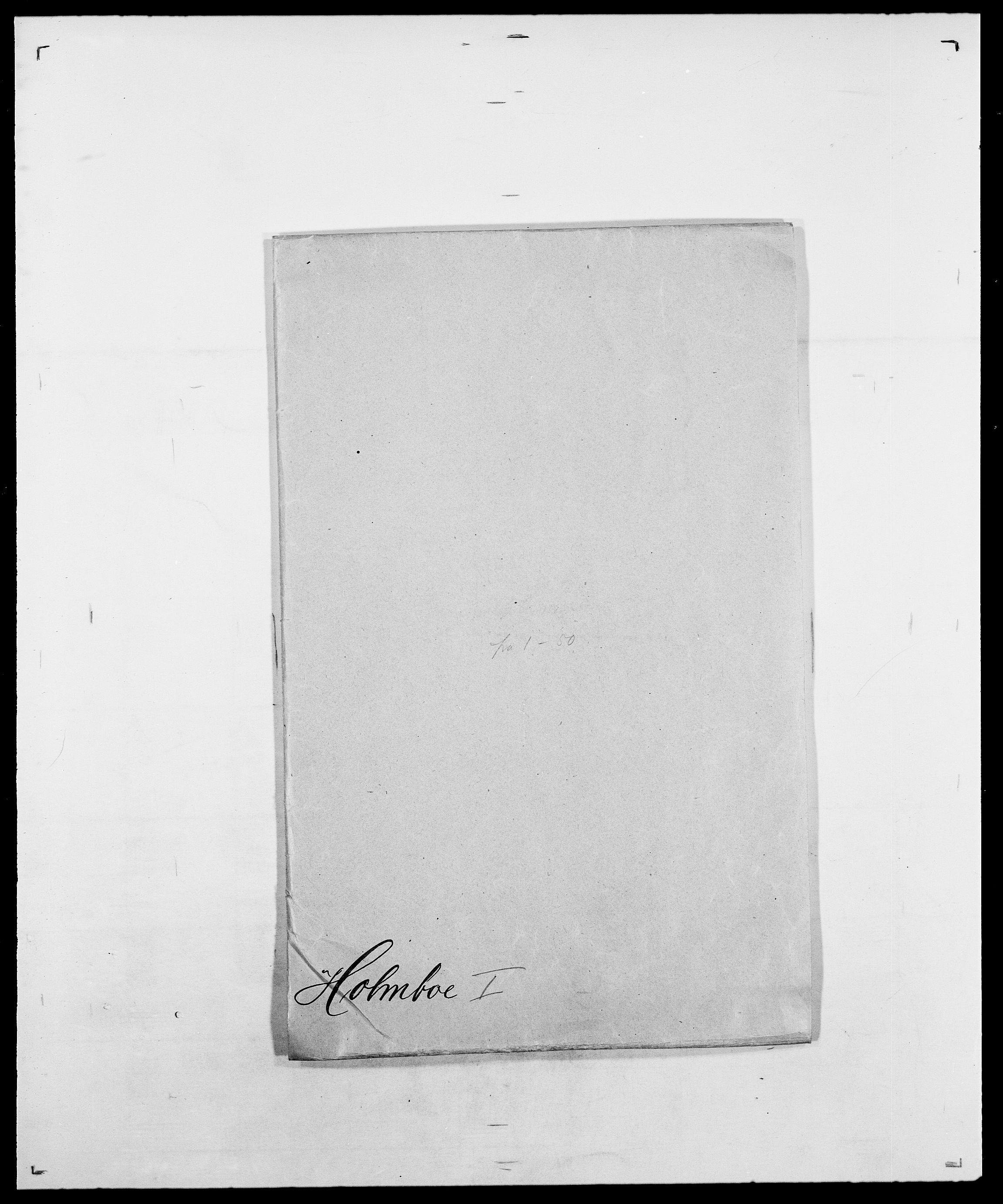 SAO, Delgobe, Charles Antoine - samling, D/Da/L0018: Hoch - Howert, s. 491