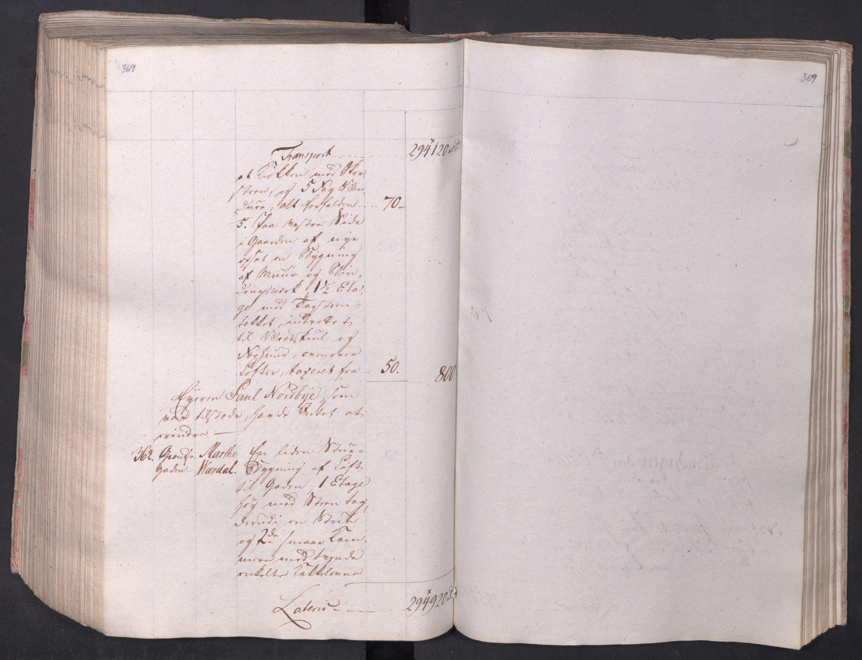 SAO, Kristiania stiftamt, I/Ia/L0015: Branntakster, 1797, s. 369