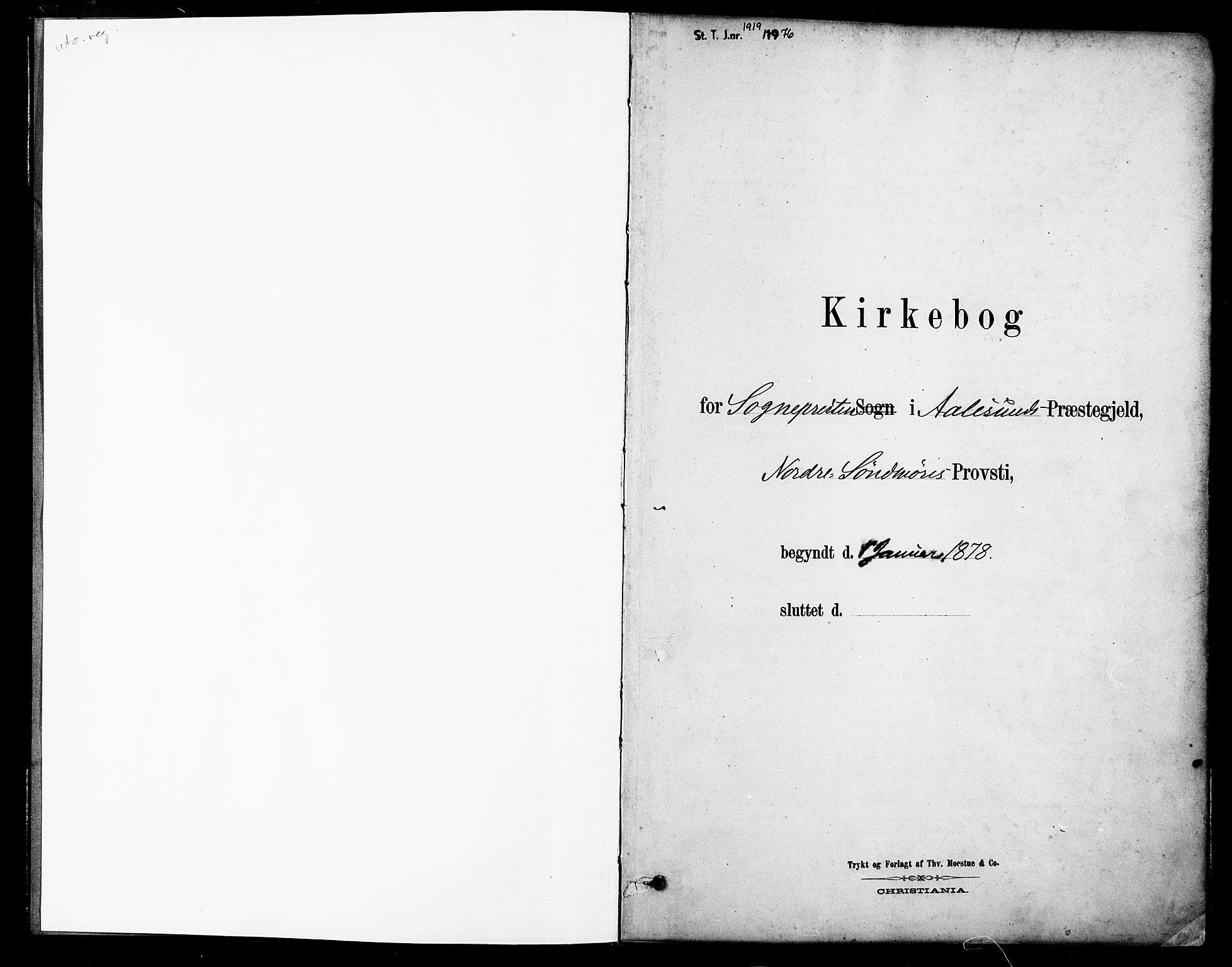 SAT, Ministerialprotokoller, klokkerbøker og fødselsregistre - Møre og Romsdal, 529/L0454: Ministerialbok nr. 529A04, 1878-1885