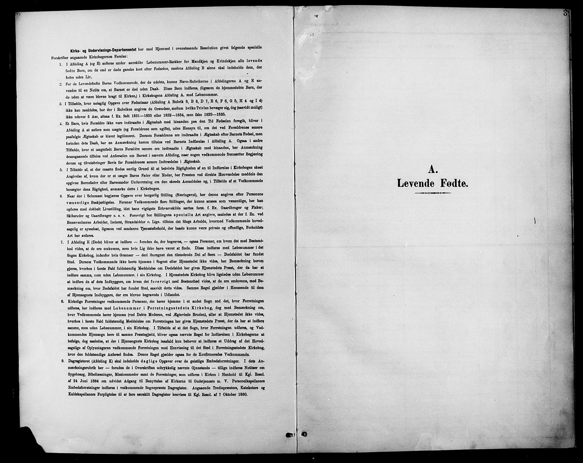 SAH, Søndre Land prestekontor, L/L0004: Klokkerbok nr. 4, 1901-1915, s. 3