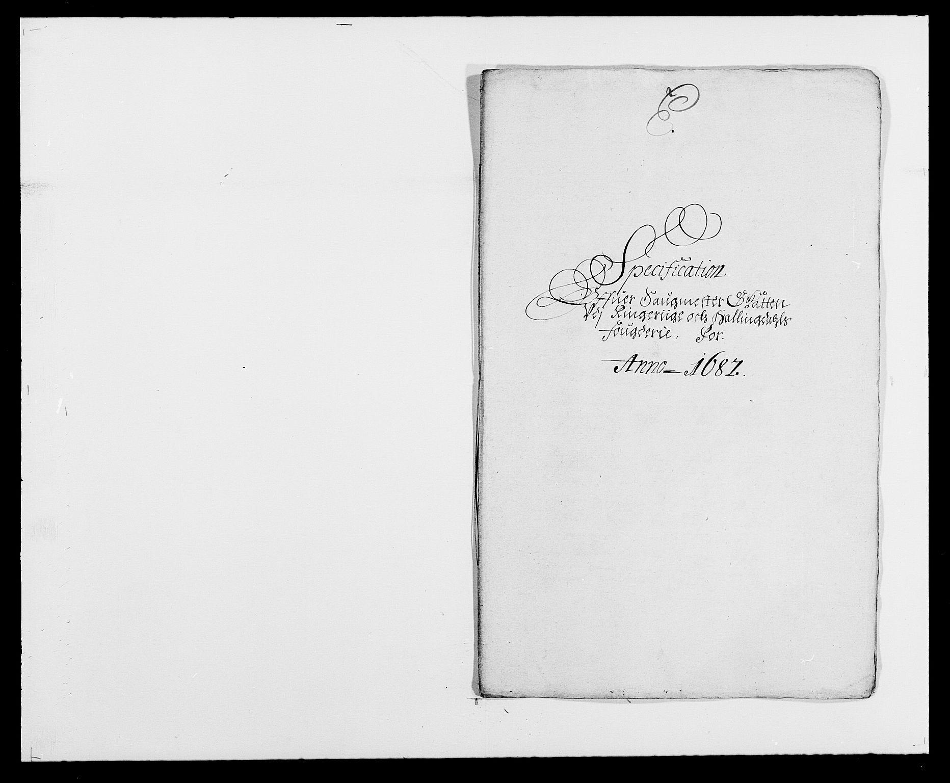RA, Rentekammeret inntil 1814, Reviderte regnskaper, Fogderegnskap, R21/L1445: Fogderegnskap Ringerike og Hallingdal, 1681-1689, s. 372