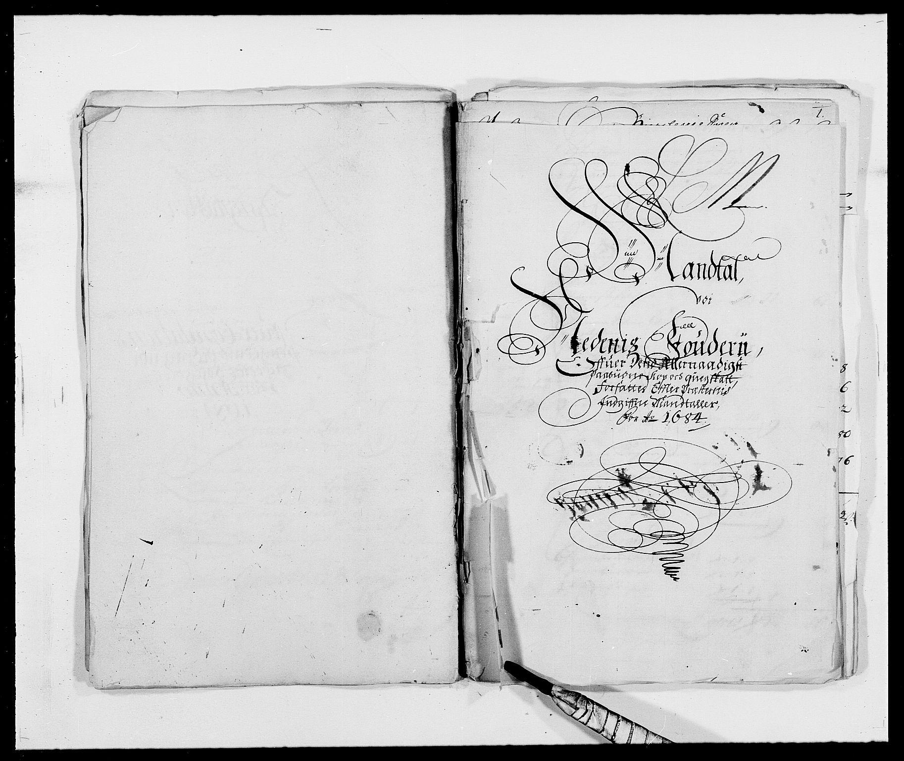 RA, Rentekammeret inntil 1814, Reviderte regnskaper, Fogderegnskap, R39/L2308: Fogderegnskap Nedenes, 1684-1689, s. 143