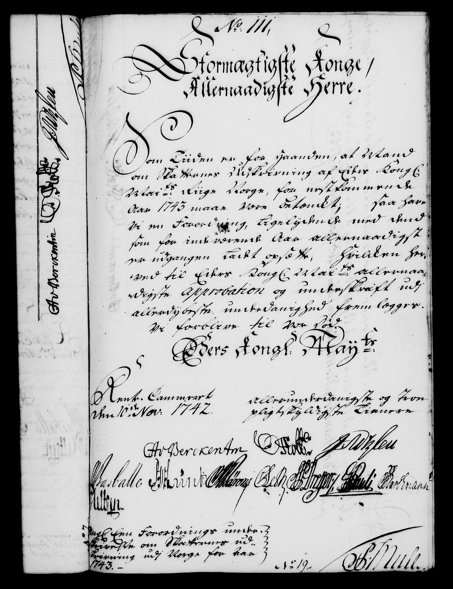 RA, Rentekammeret, Kammerkanselliet, G/Gf/Gfa/L0025: Norsk relasjons- og resolusjonsprotokoll (merket RK 52.25), 1742, s. 680