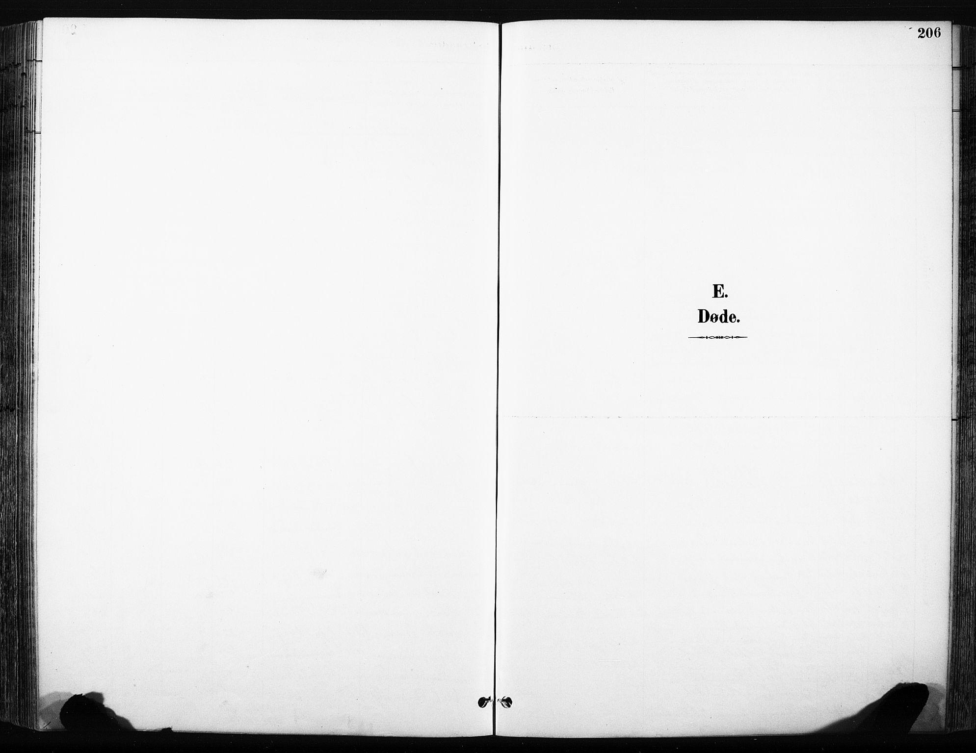 SAH, Skjåk prestekontor, Klokkerbok nr. 3, 1893-1932, s. 206