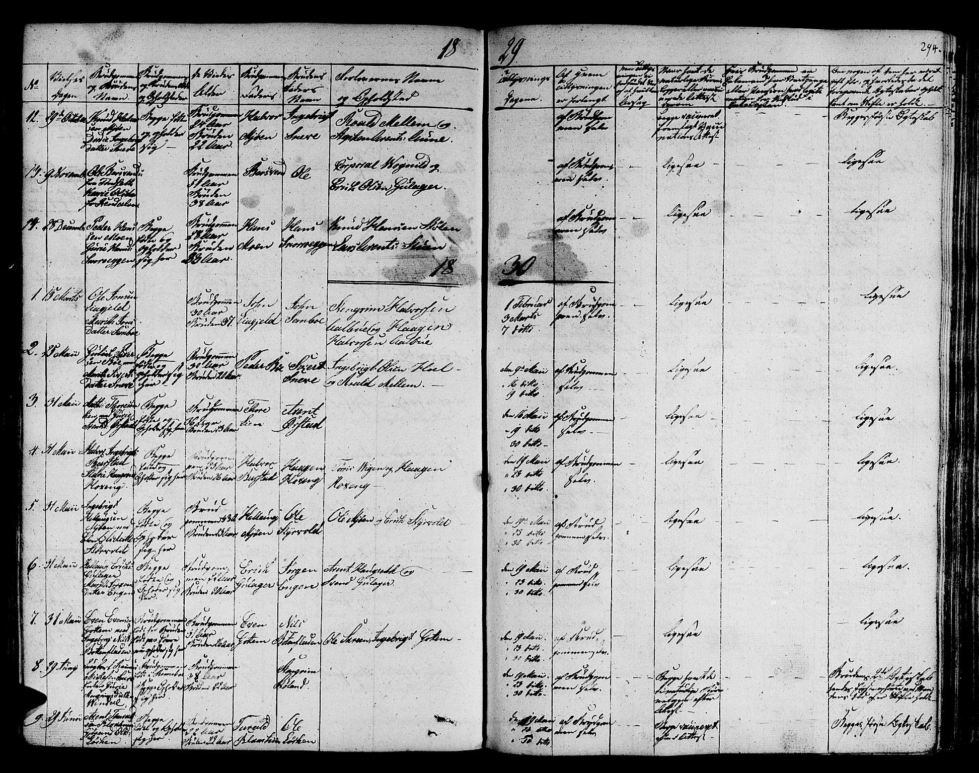 SAT, Ministerialprotokoller, klokkerbøker og fødselsregistre - Sør-Trøndelag, 678/L0897: Ministerialbok nr. 678A06-07, 1821-1847, s. 294