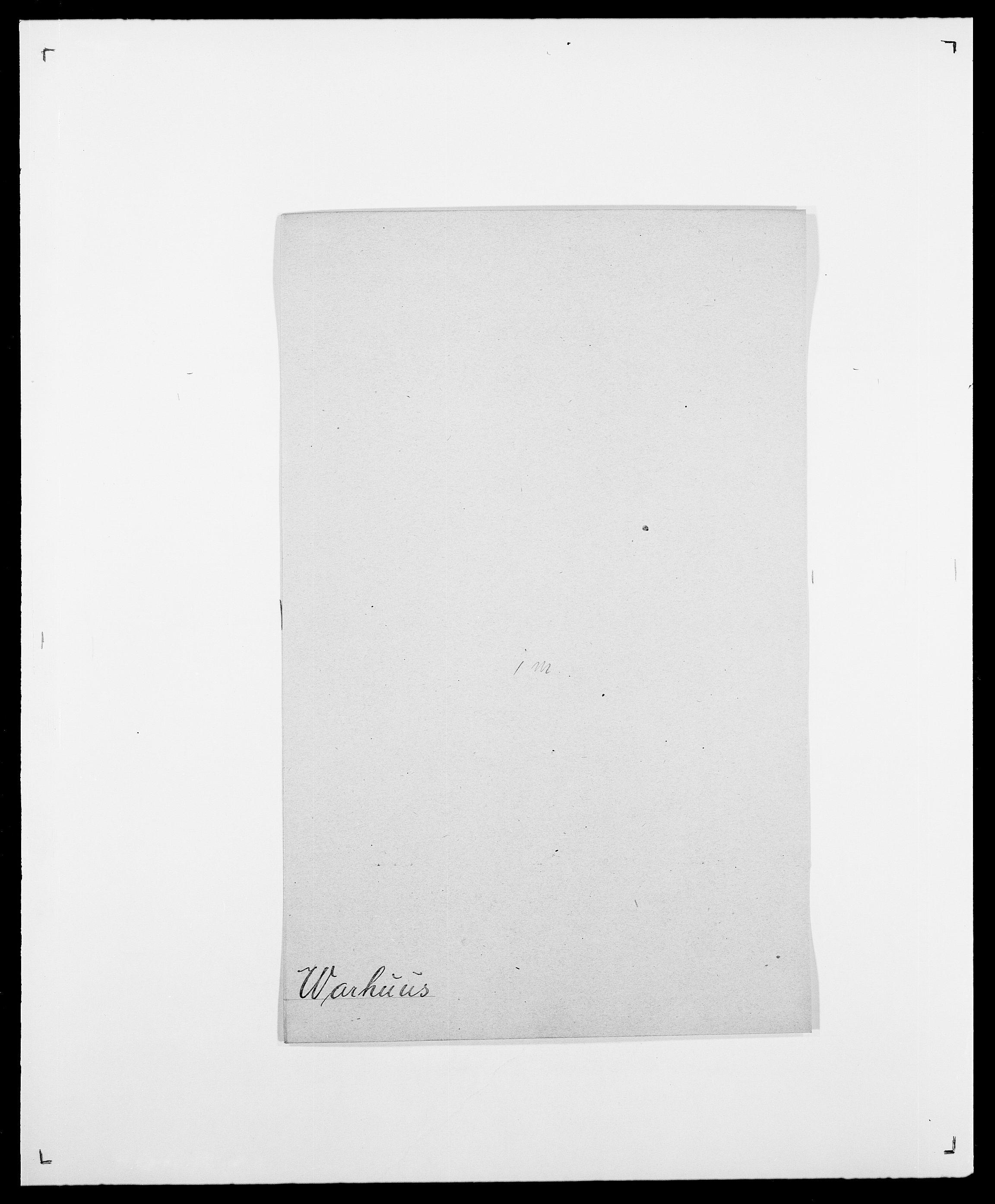 SAO, Delgobe, Charles Antoine - samling, D/Da/L0040: Usgaard - Velund, s. 322